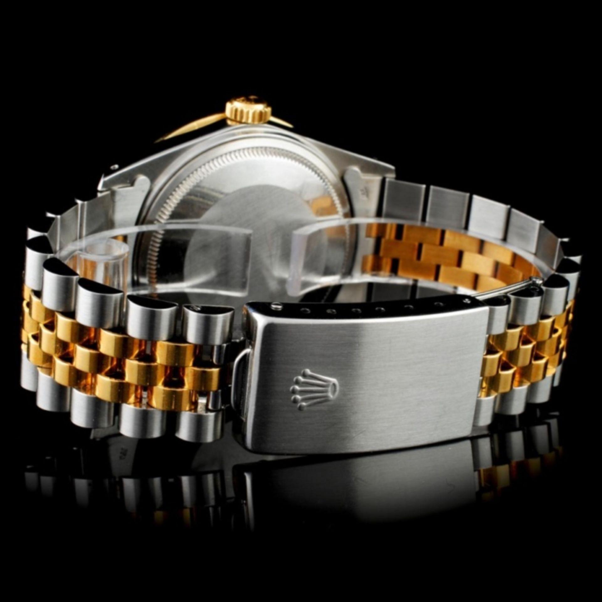 Rolex DateJust 18K/SS Diamond 36mm Watch - Image 3 of 5