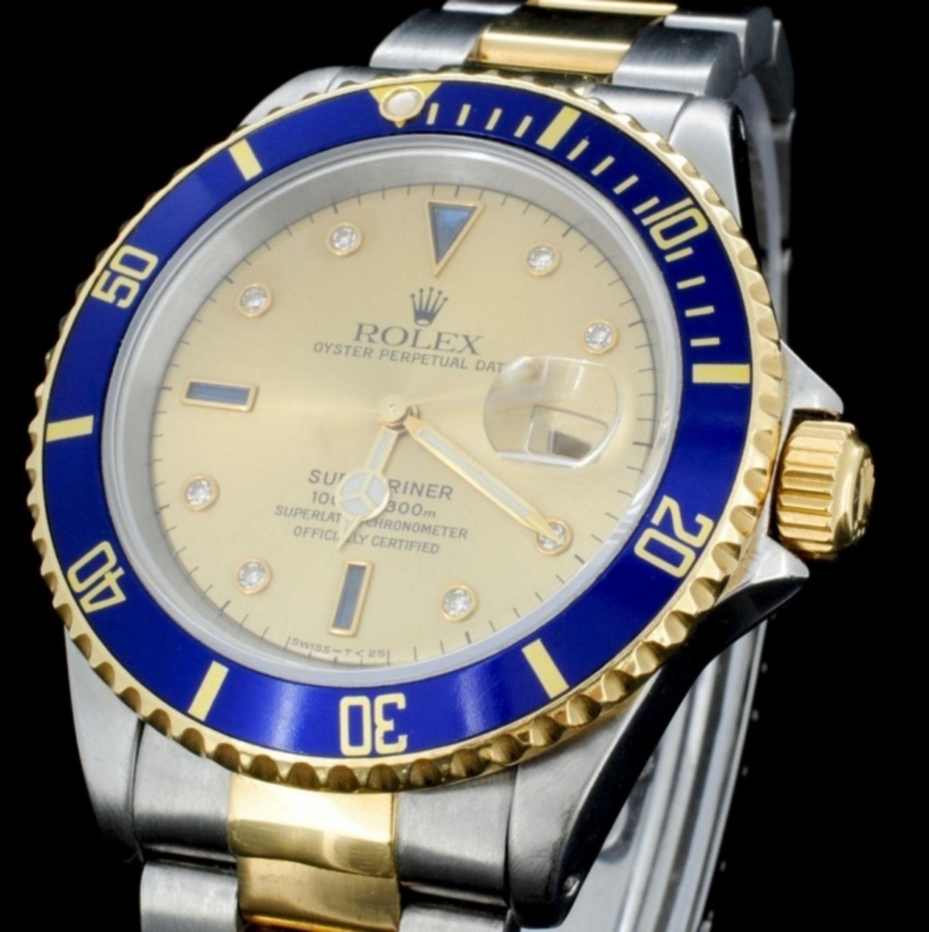 Rolex YG/SS Submariner Men's Wristwatch - Image 2 of 6