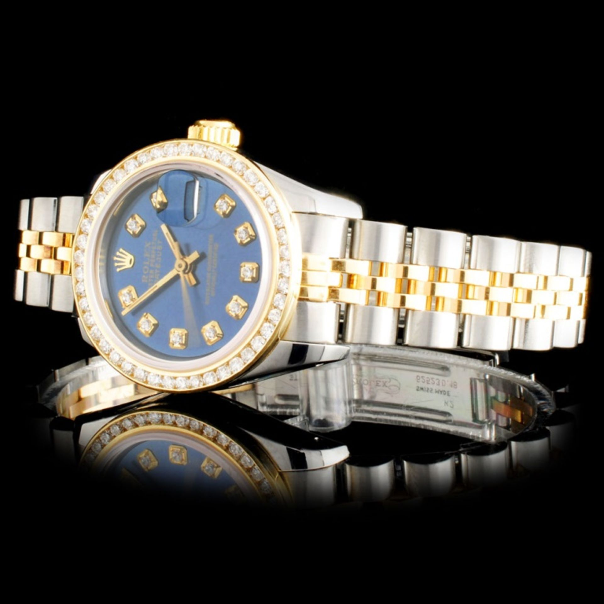 Rolex DateJust Ladies Diamond Wristwatch - Image 2 of 5