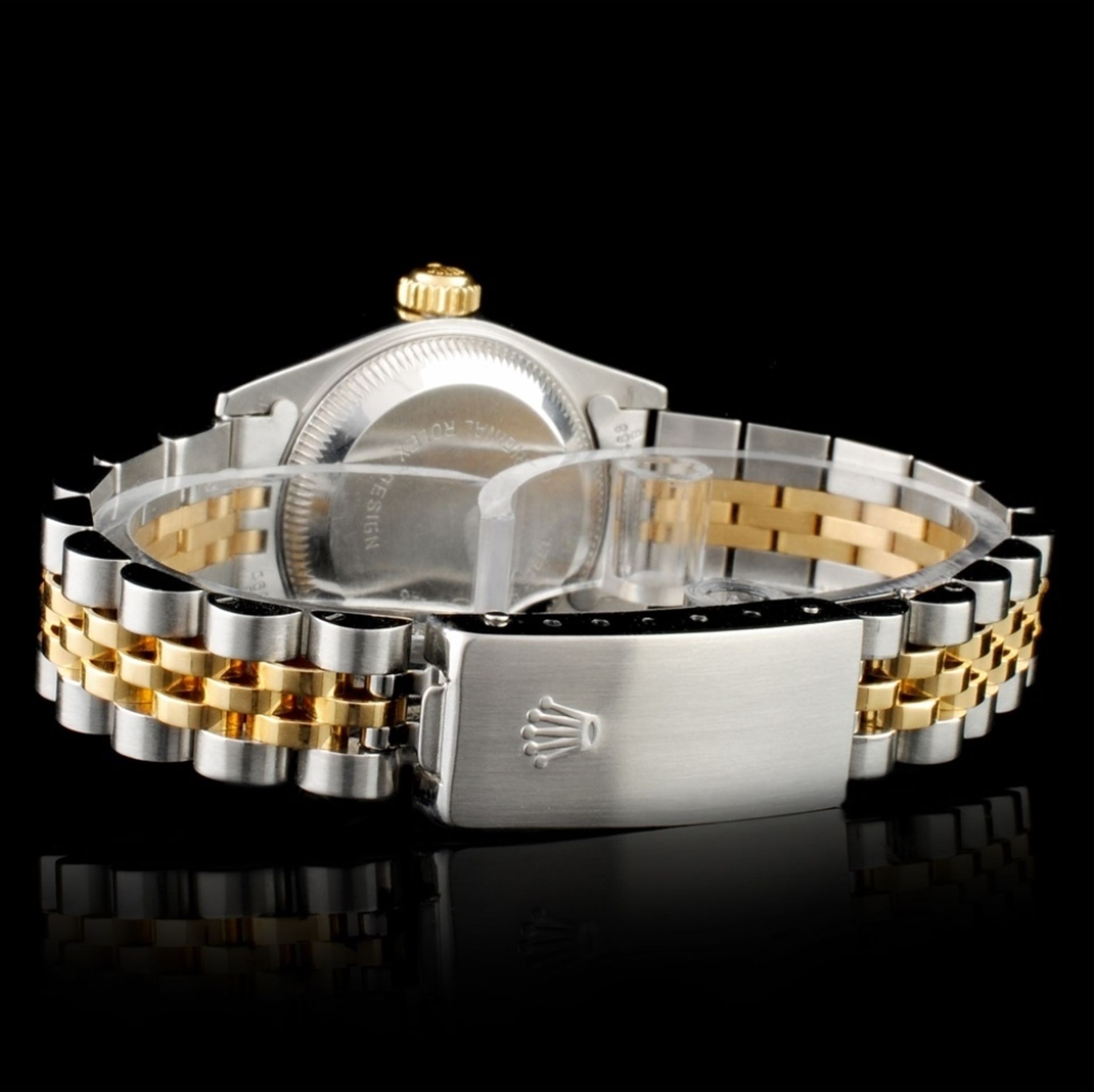 Rolex DateJust Diamond Ladies Wristwatch - Image 4 of 6