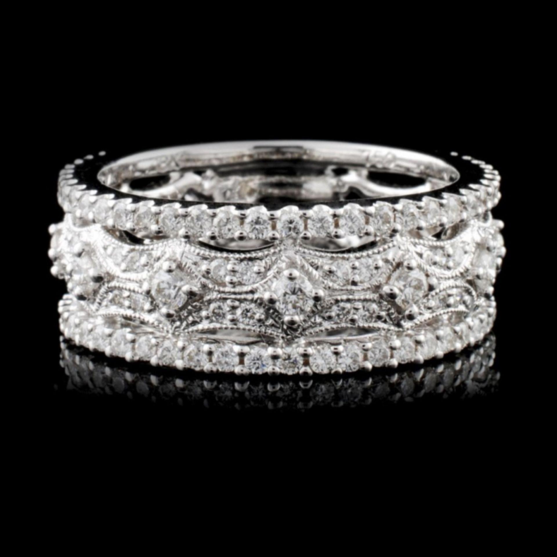 18K White Gold 1.03ct Diamond Ring - Image 2 of 4