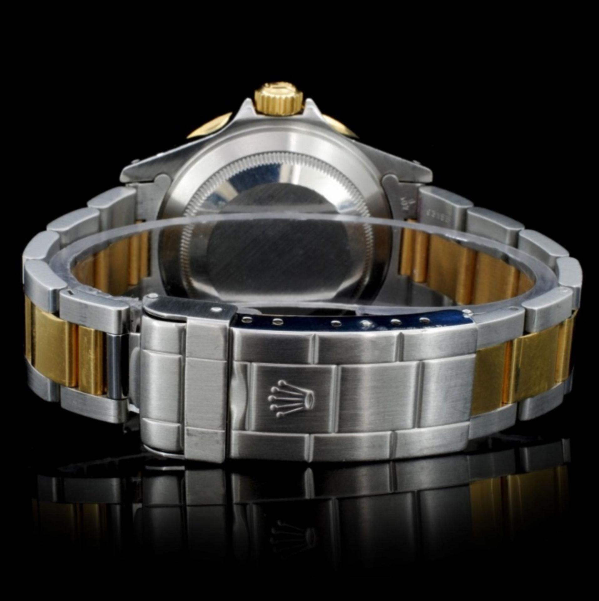 Rolex YG/SS Submariner Men's Wristwatch - Image 4 of 6