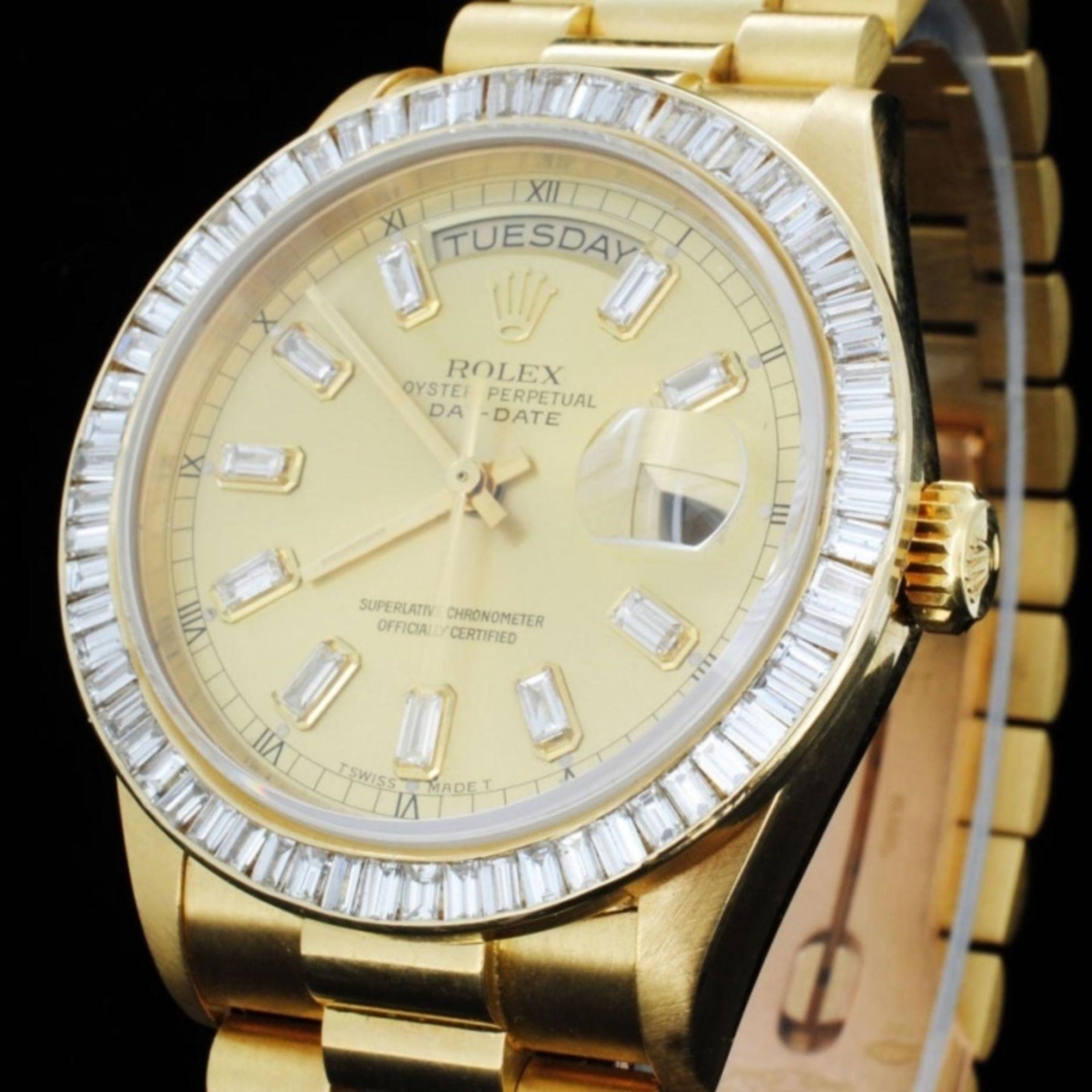 Rolex Day-Date Diamond 36mm Wristwatch - Image 2 of 6