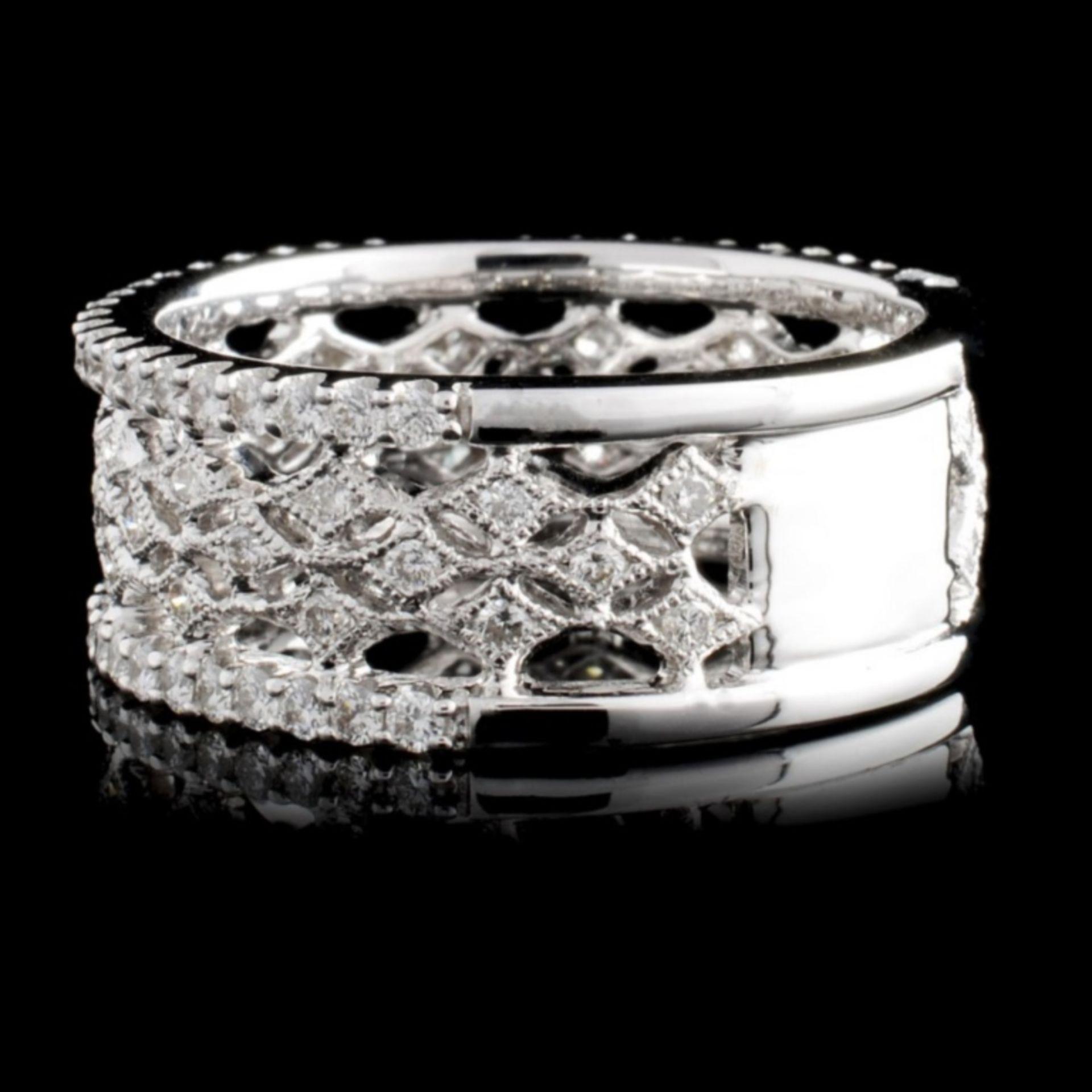 18K White Gold 0.95ct Diamond Ring - Image 2 of 3