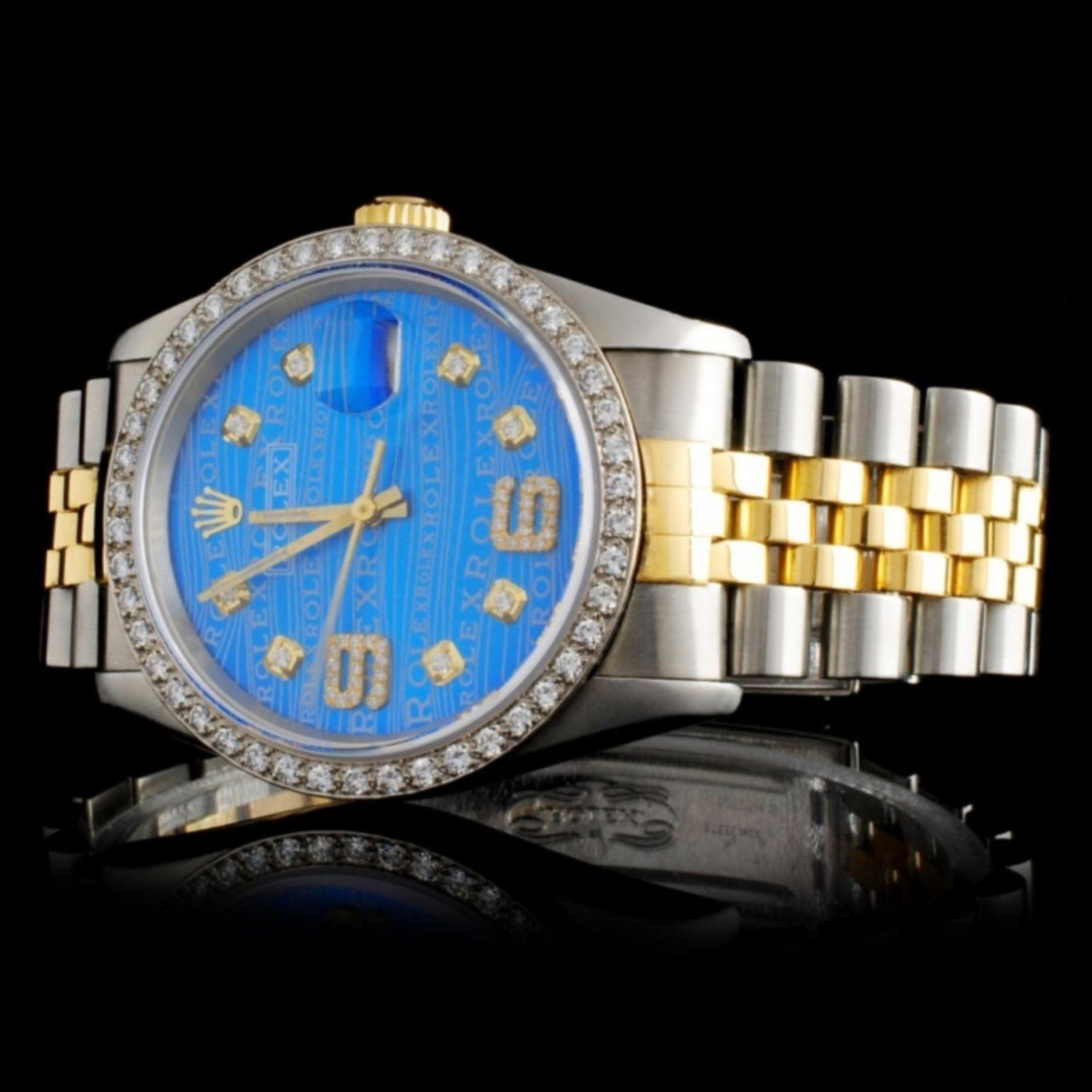 Rolex YG/SS DateJust Diam 36MM Wristwatch - Image 2 of 5