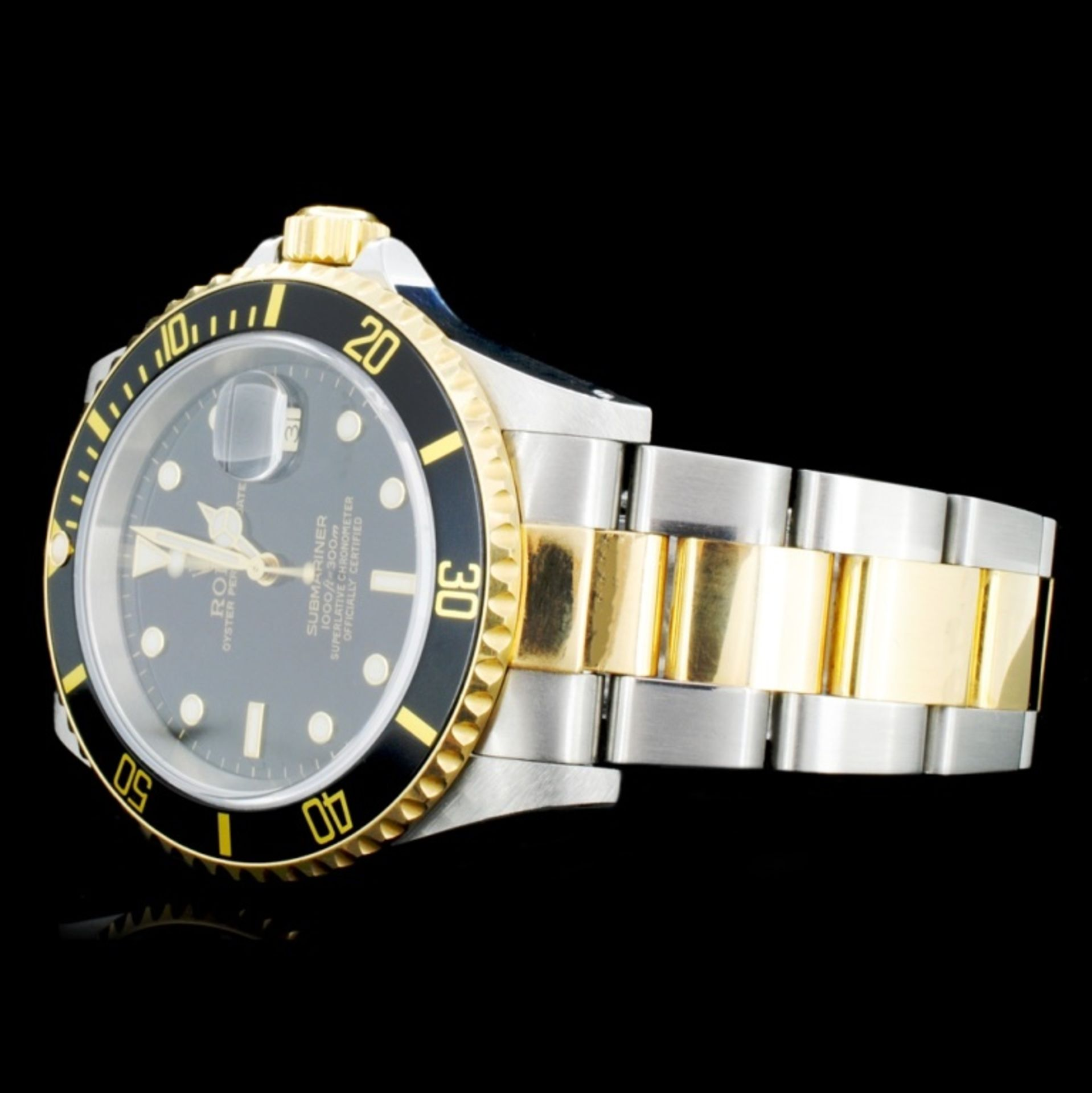 Rolex Submariner 18K & Stainless Steel 40MM Watch - Image 2 of 5