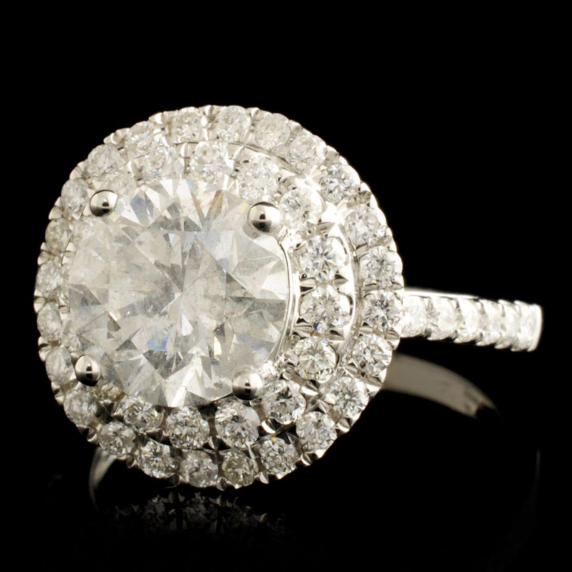 18K Gold 2.73ctw Diamond Ring - Image 2 of 7