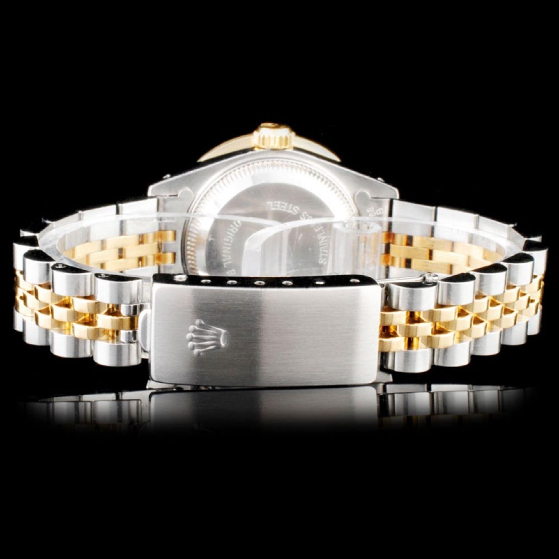 Rolex DateJust Ladies Diamond Wristwatch - Image 3 of 5