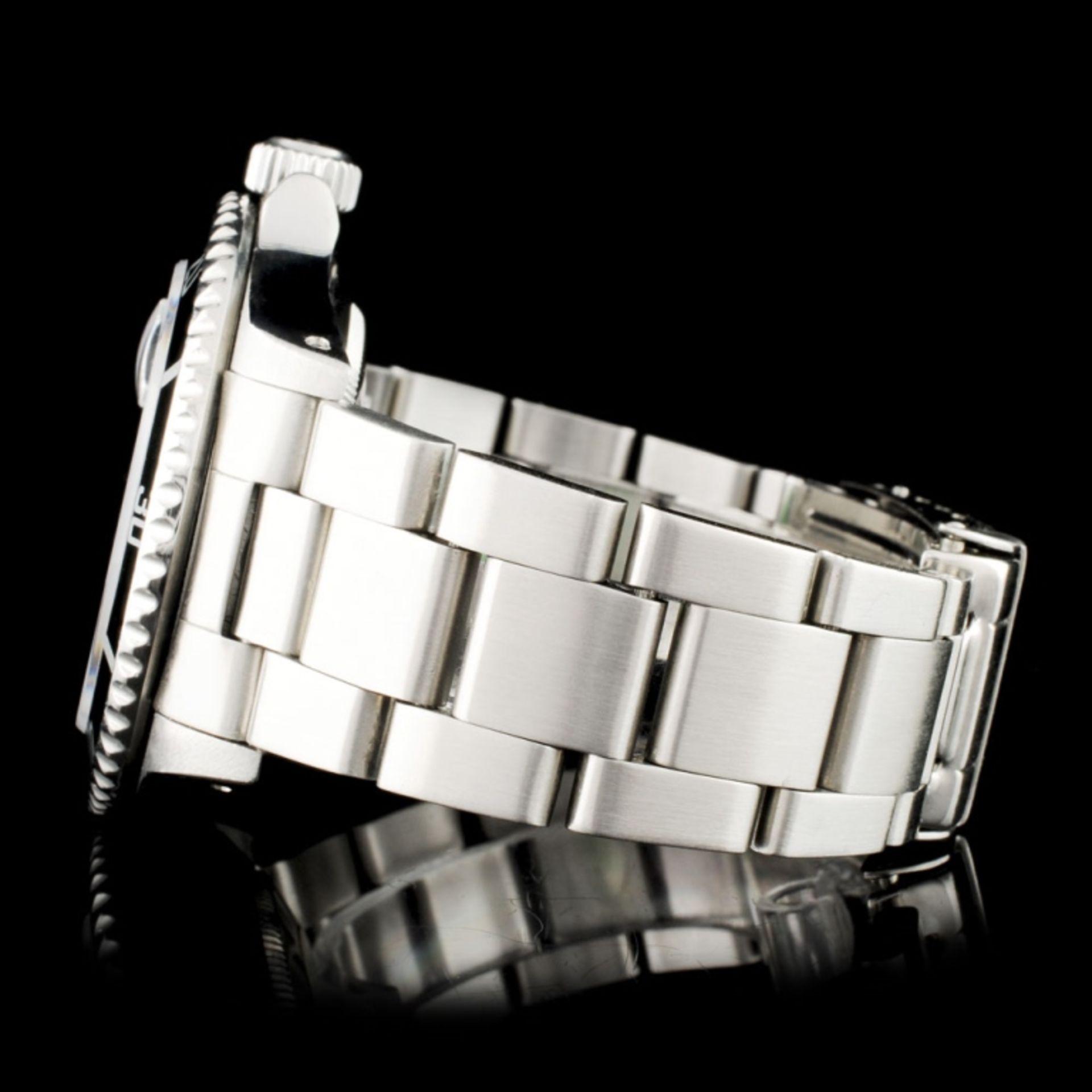 Rolex Submariner SS 40MM Diamond Wristwatch - Image 4 of 7