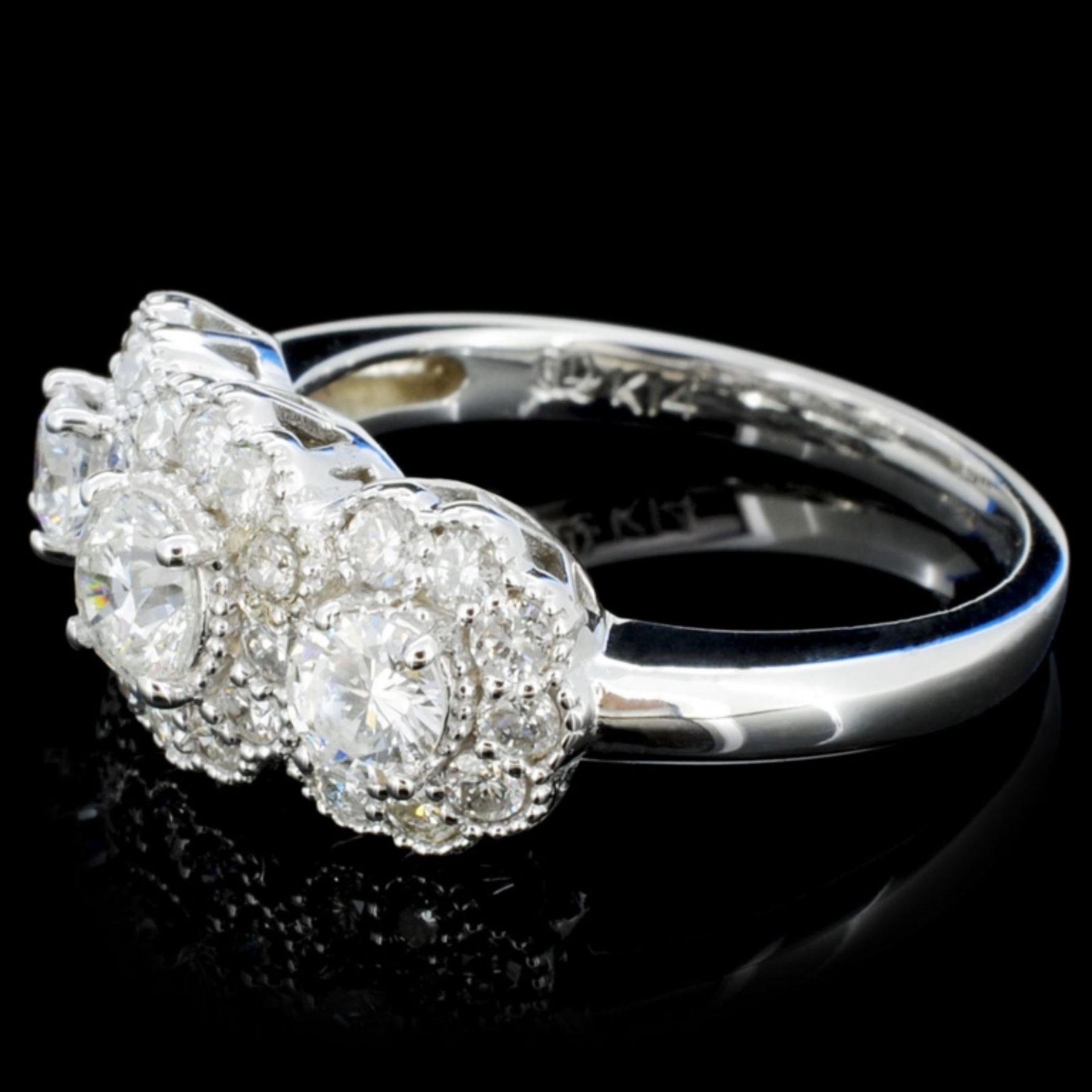 14K Gold 1.20ctw Diamond Ring - Image 3 of 4