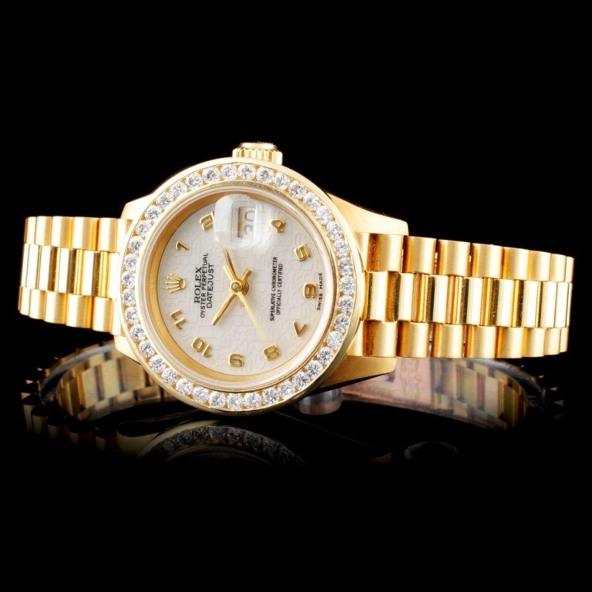 Rolex Presidential Diamond Ladies Watch - Image 3 of 6