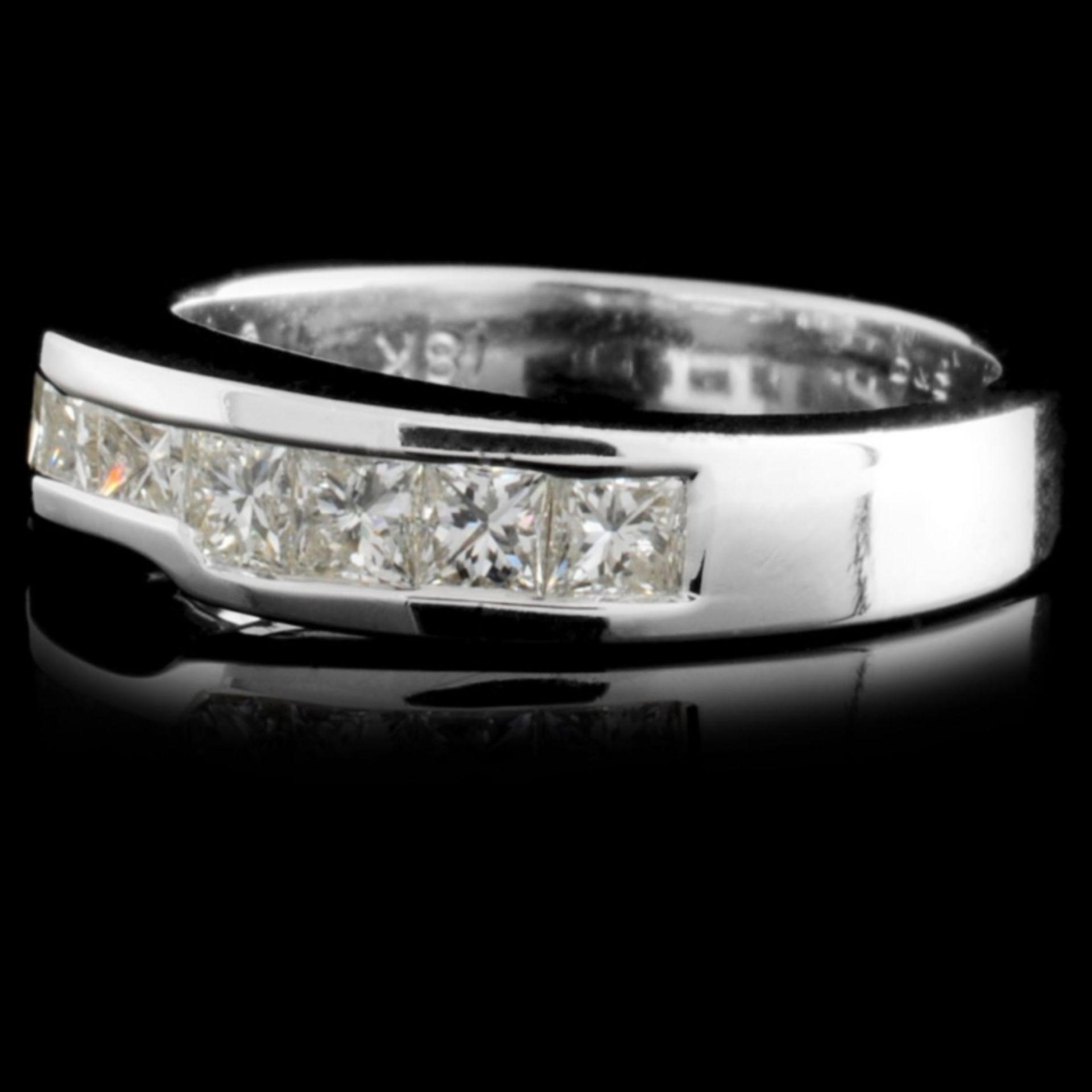 18K White Gold 0.71ctw Diamond Ring - Image 2 of 3