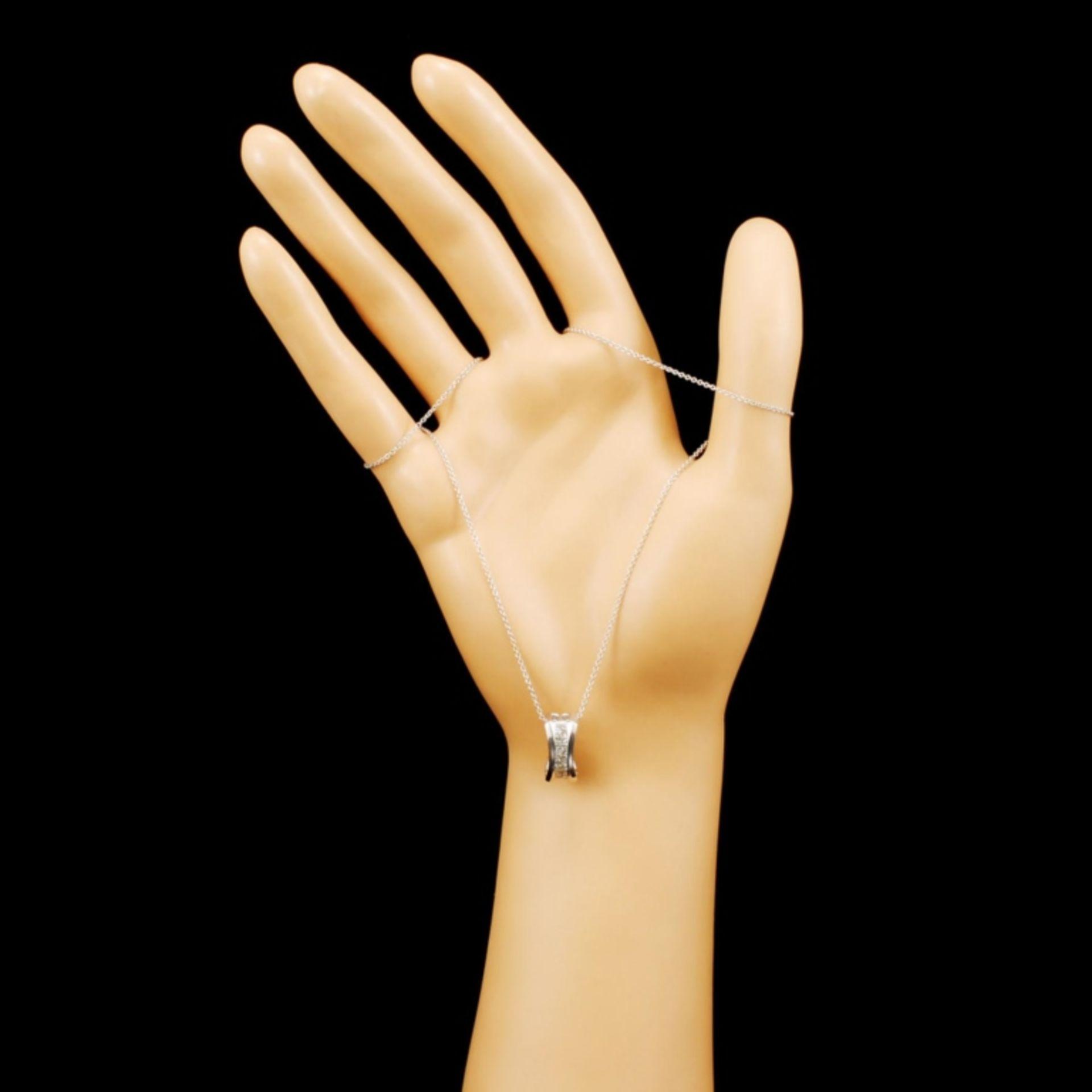 14K Gold 0.43ctw Diamond Pendant - Image 3 of 4