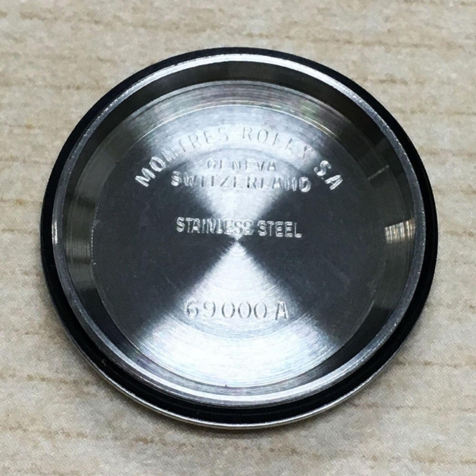 Rolex DateJust 18K & SS 1.00ct Diamond Blue Vignet - Image 5 of 8