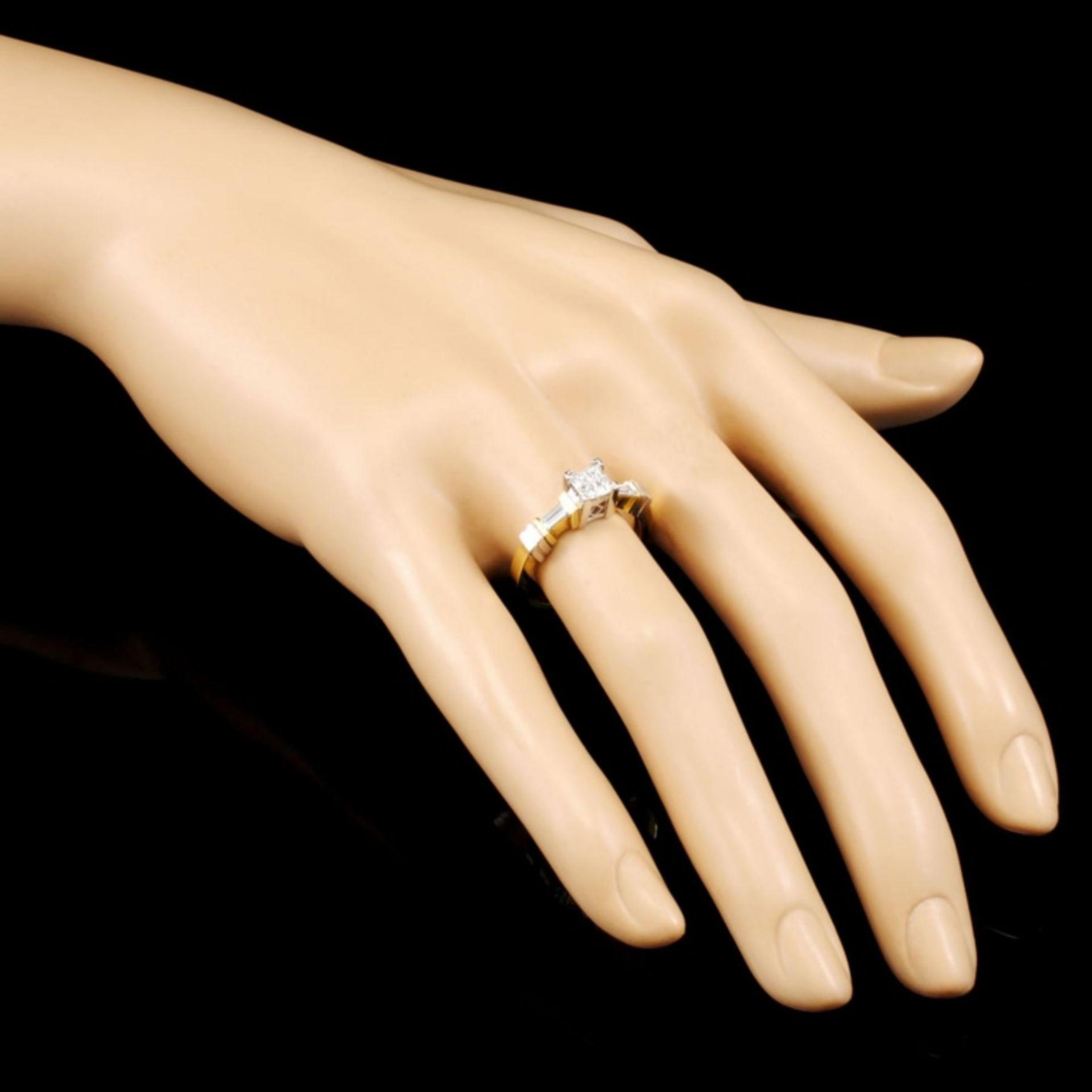 18K Gold 0.50ctw Diamond Ring - Image 3 of 4
