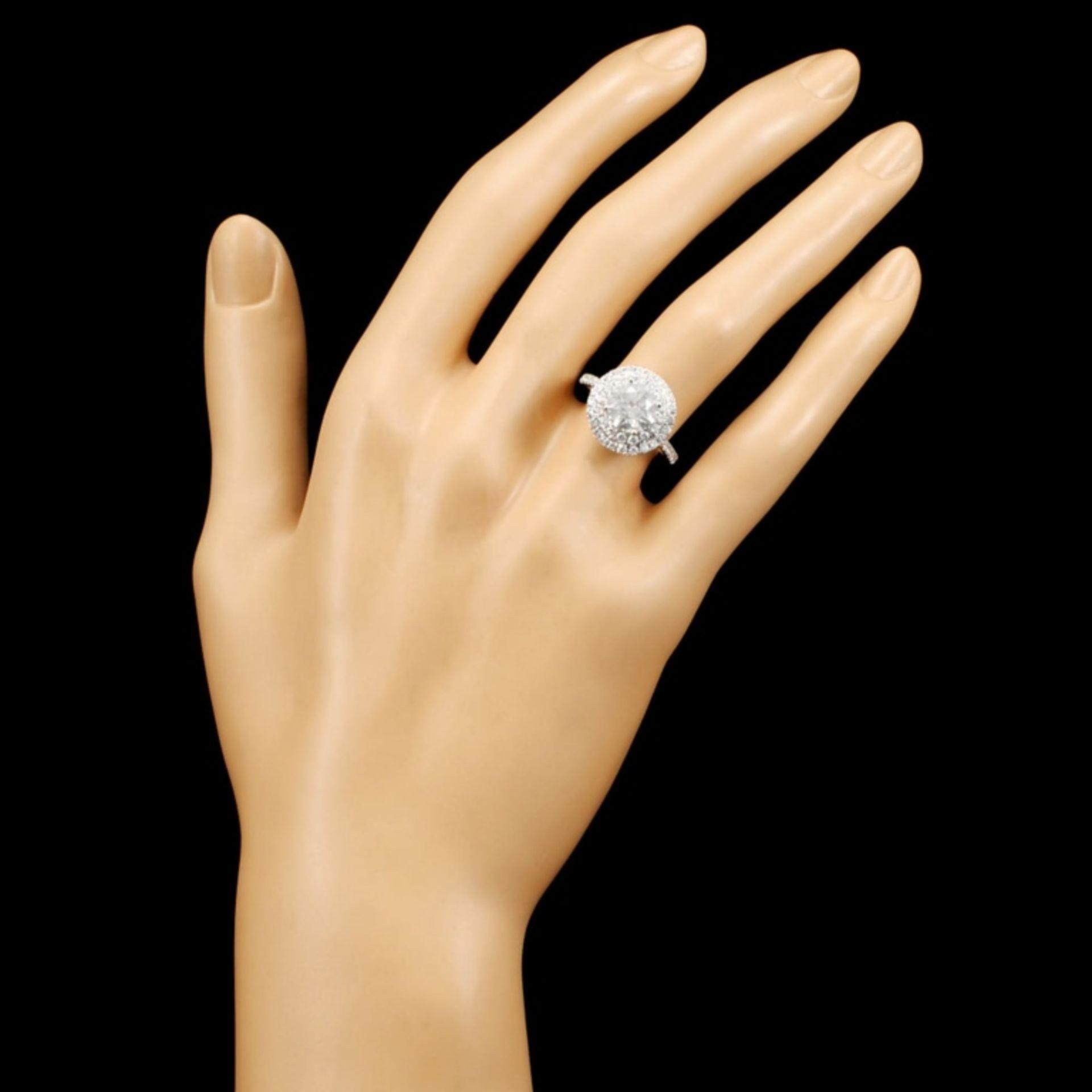 18K Gold 2.73ctw Diamond Ring - Image 6 of 7