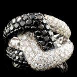 14K Gold 4.00ctw Diamond Ring