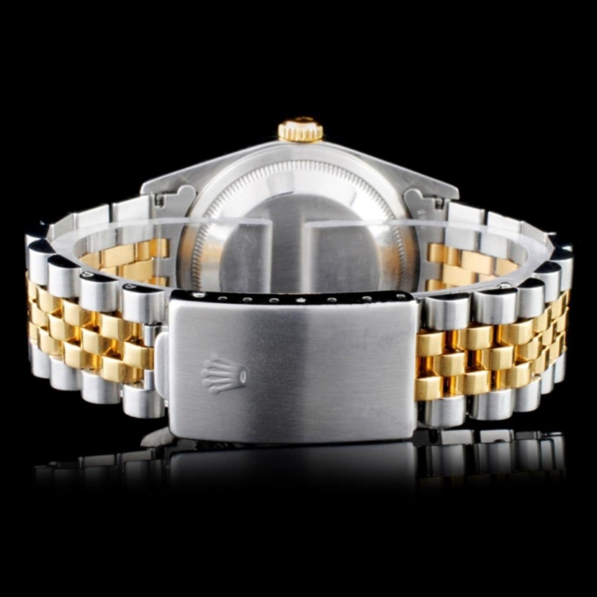 Rolex YG/SS DateJust Diam 36MM Wristwatch - Image 3 of 5