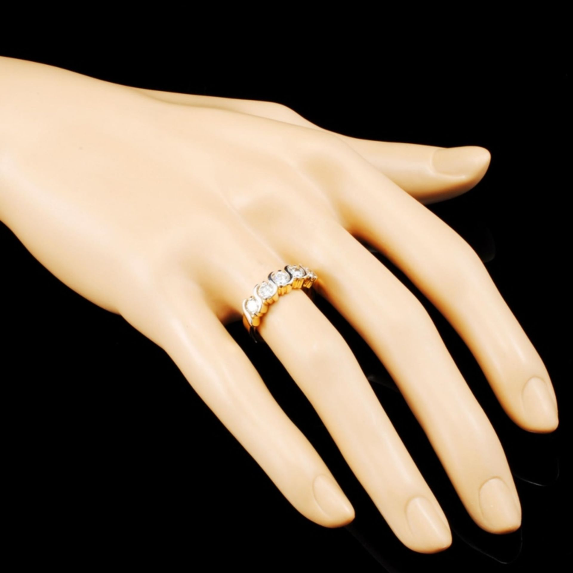 14K Gold 1.20ctw Diamond Ring - Image 3 of 5