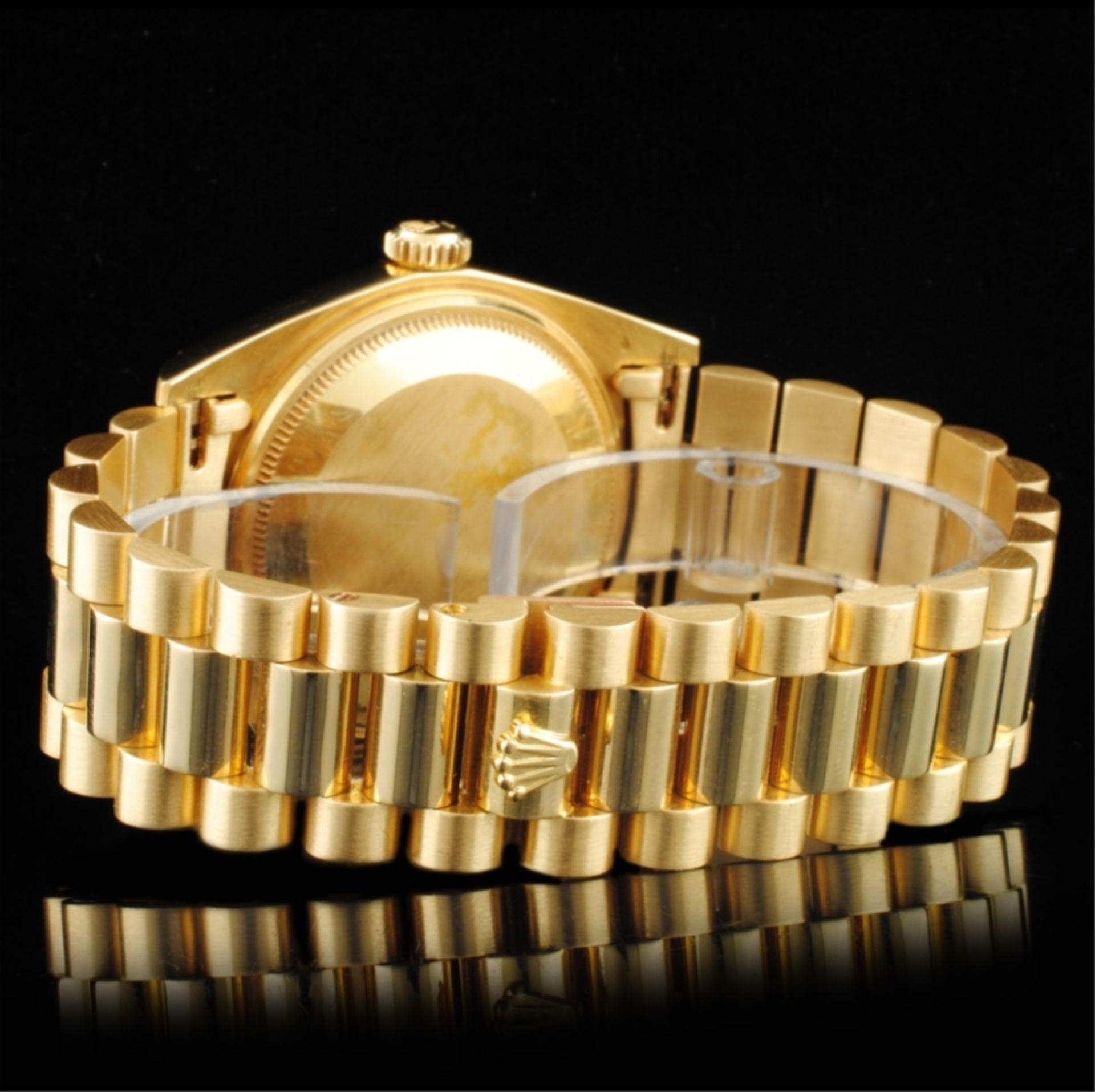 Rolex Day-Date 18K YG 36MM Wristwatch - Image 4 of 6