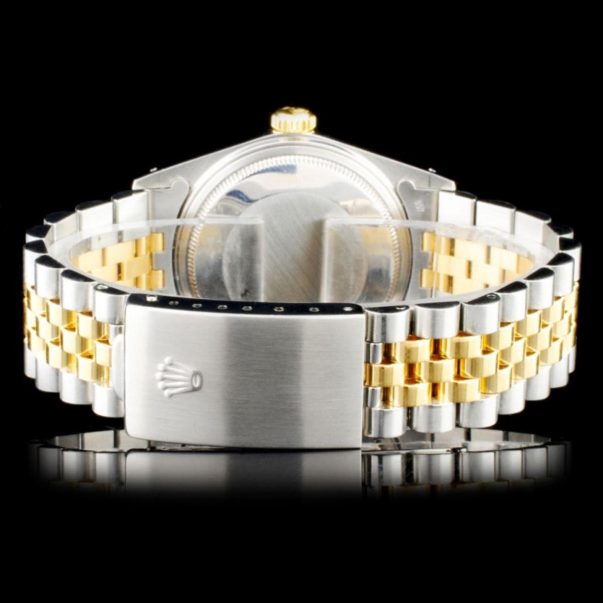 Rolex YG/SS 36MM DateJust Diamond Watch - Image 3 of 5
