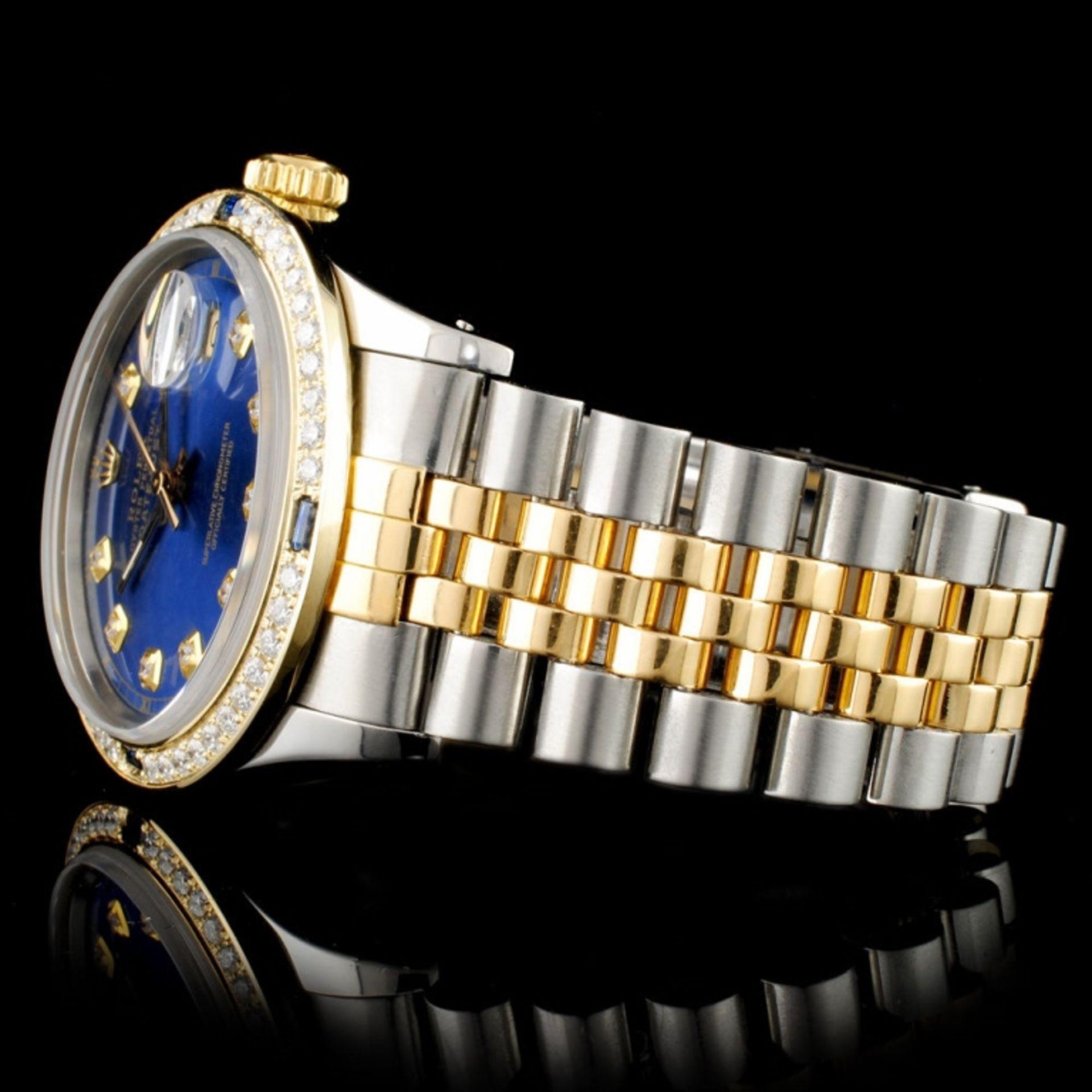 Rolex DateJust 36MM 1.50ct Diamond Wristwatch - Image 6 of 7