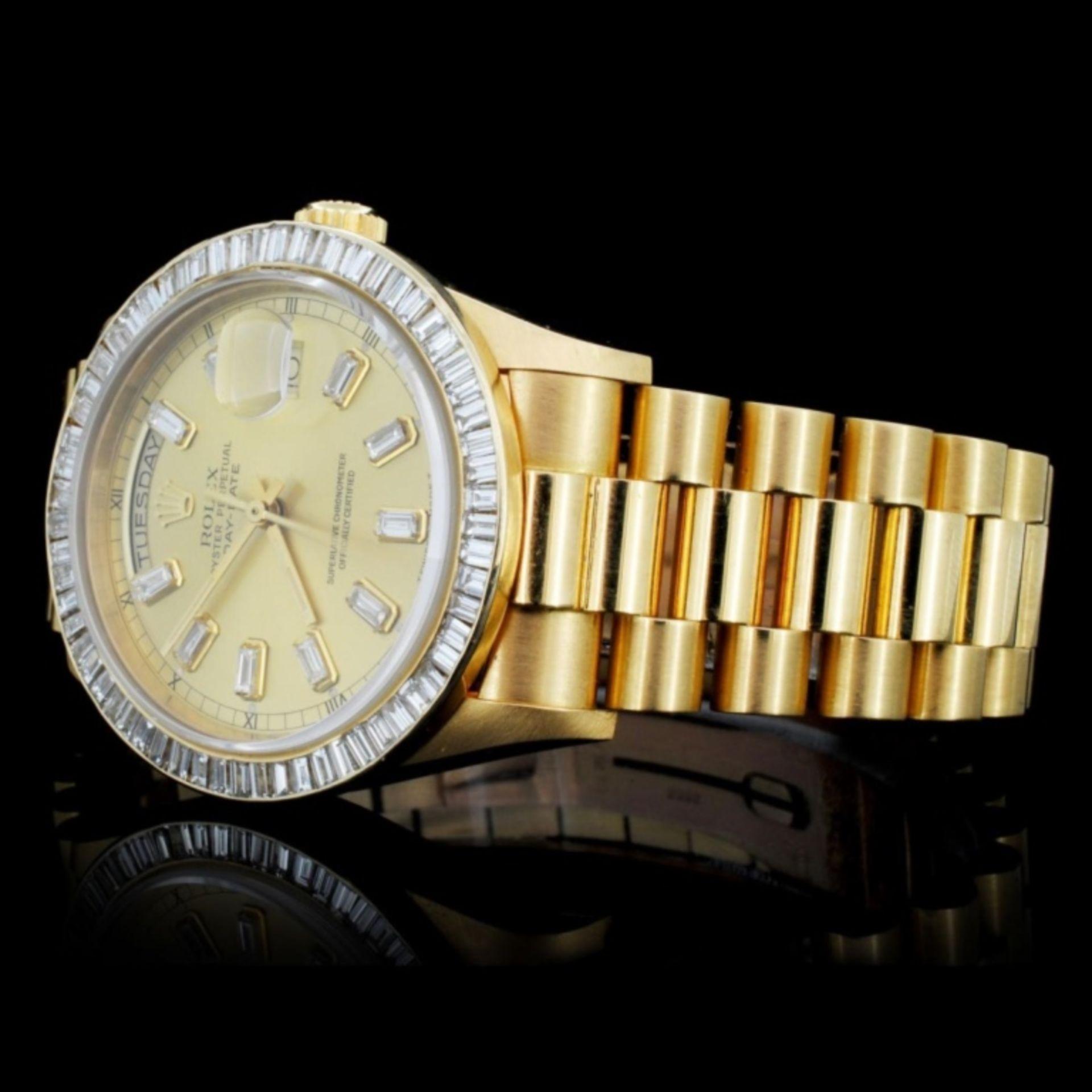 Rolex Day-Date Diamond 36mm Wristwatch - Image 3 of 6