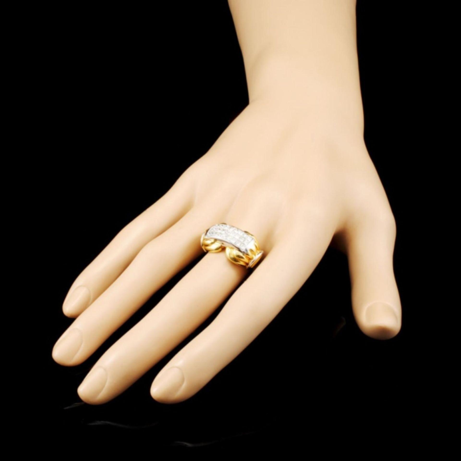 18K Gold 1.29ctw Diamond Ring - Image 3 of 4