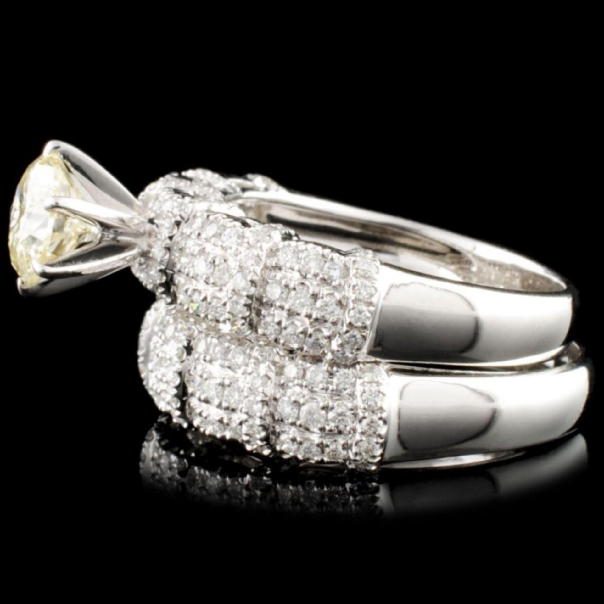 18K Gold 1.92ctw Diamond Ring - Image 3 of 4