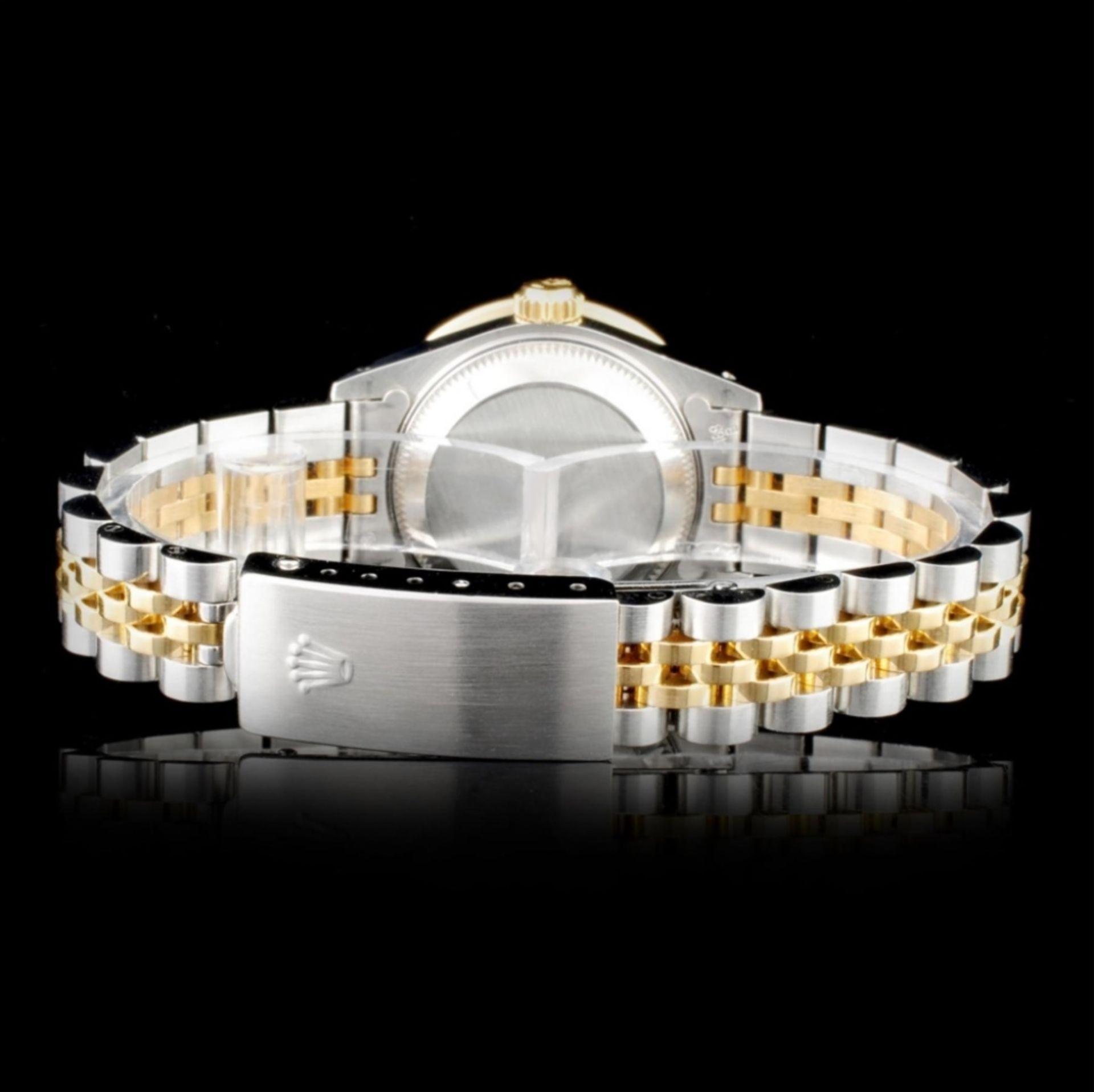 Rolex YG/SS DateJust Diamond Ladies Wristwa - Image 3 of 5