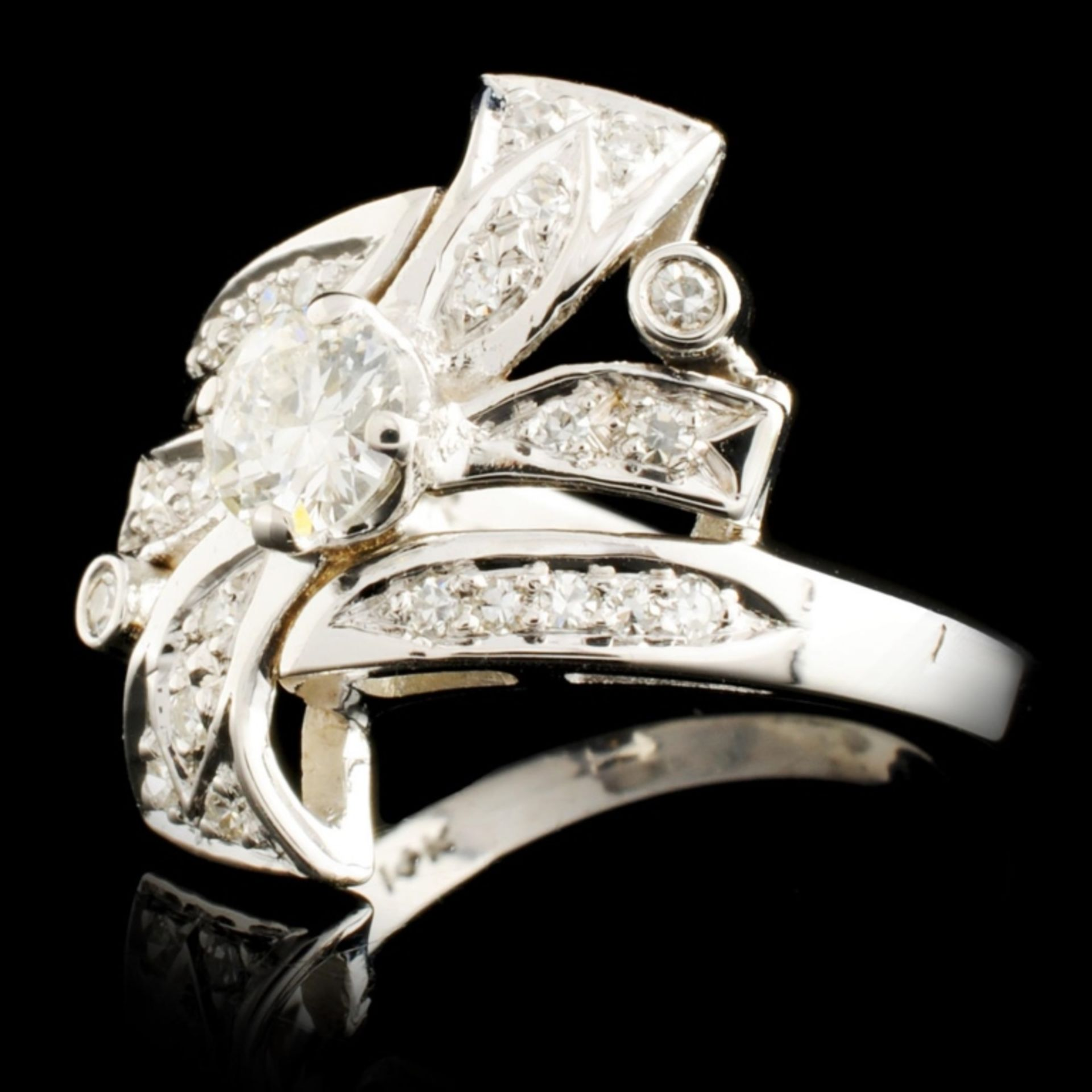 14K Gold 0.85ctw Diamond Ring - Image 2 of 5