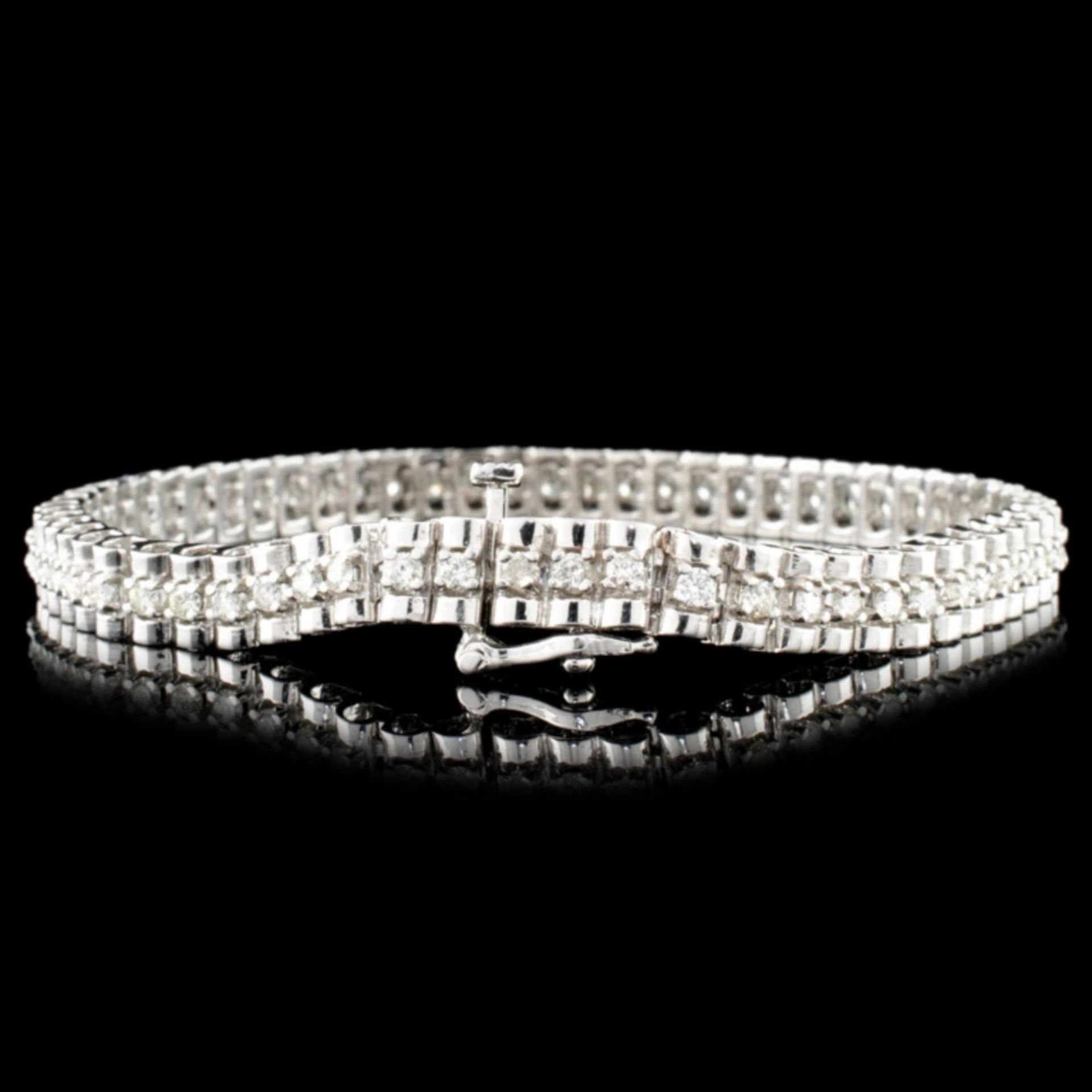 14K Gold 2.00ctw Diamond Bracelet - Image 2 of 4