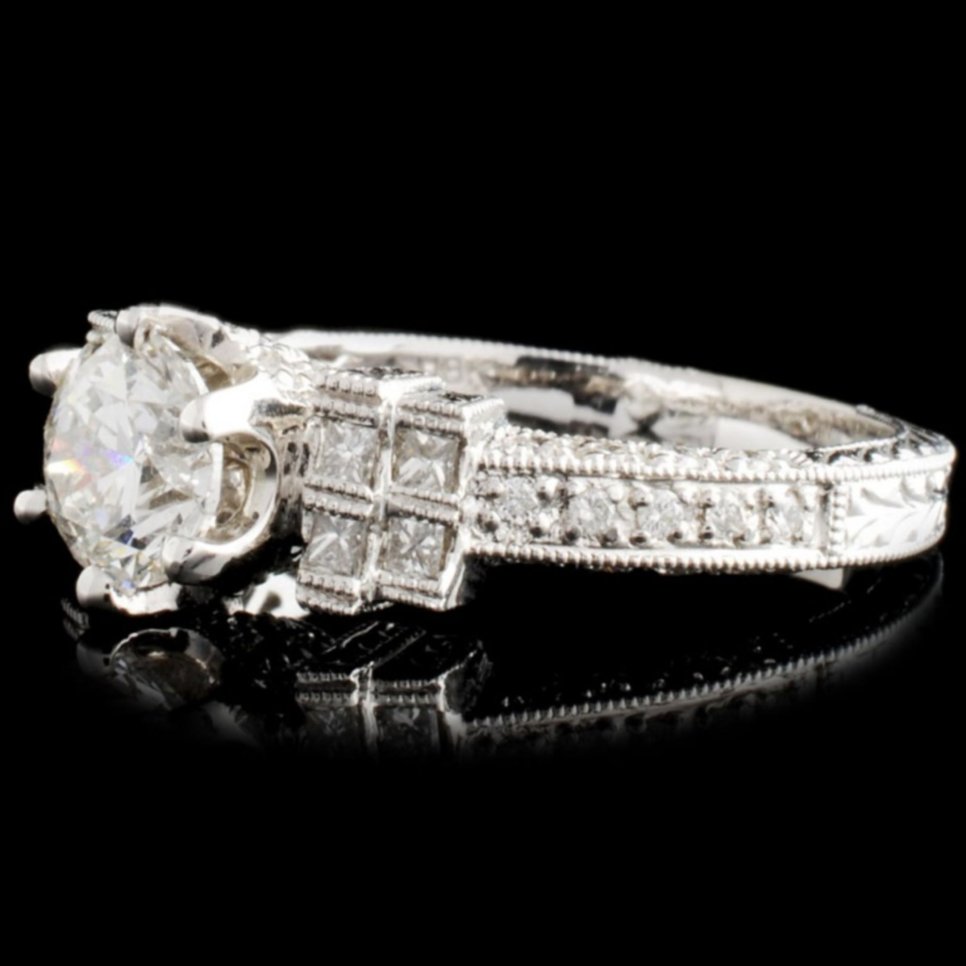 18K Gold 1.33ctw Diamond Ring - Image 2 of 4