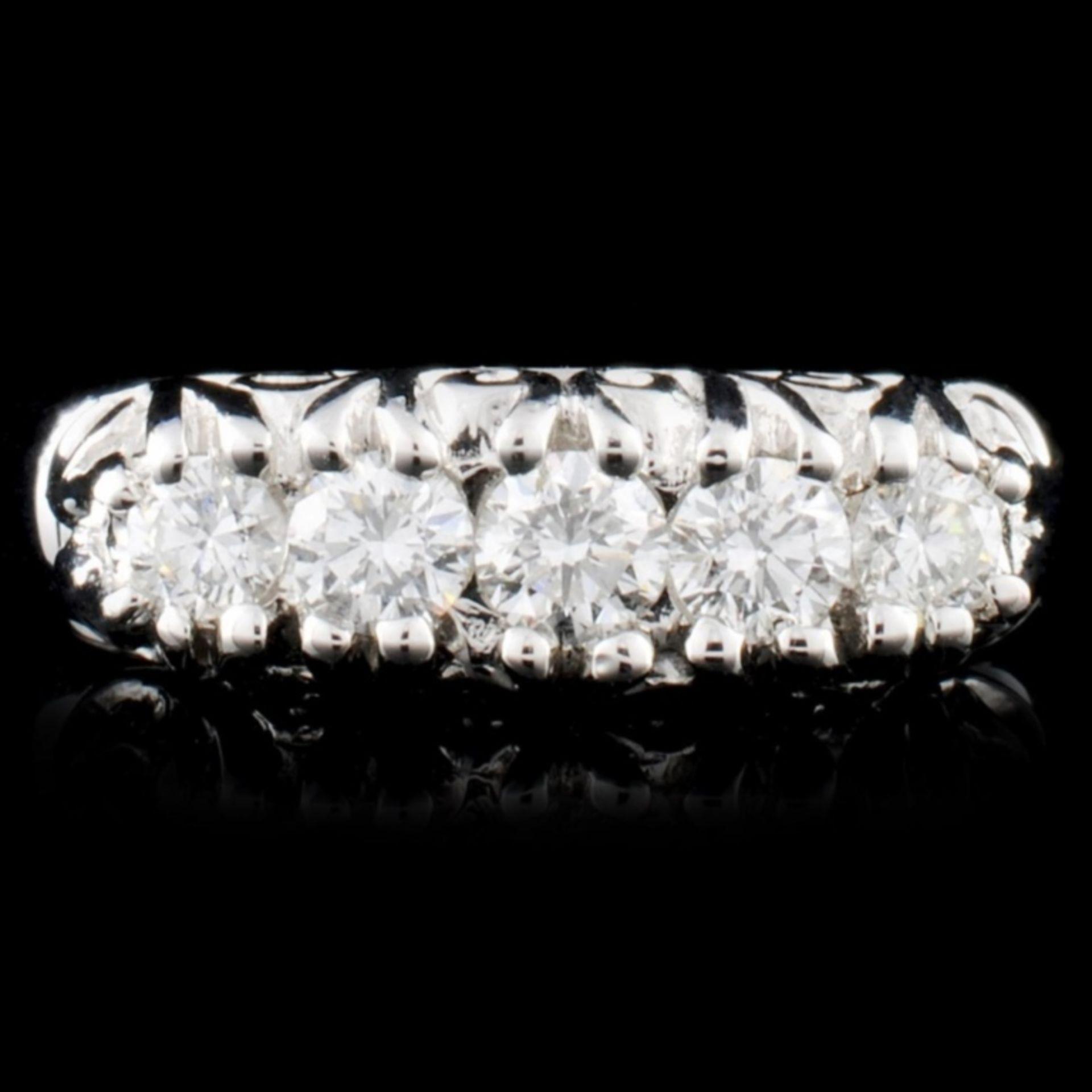 18K Gold 0.60ctw Diamond Ring - Image 2 of 3