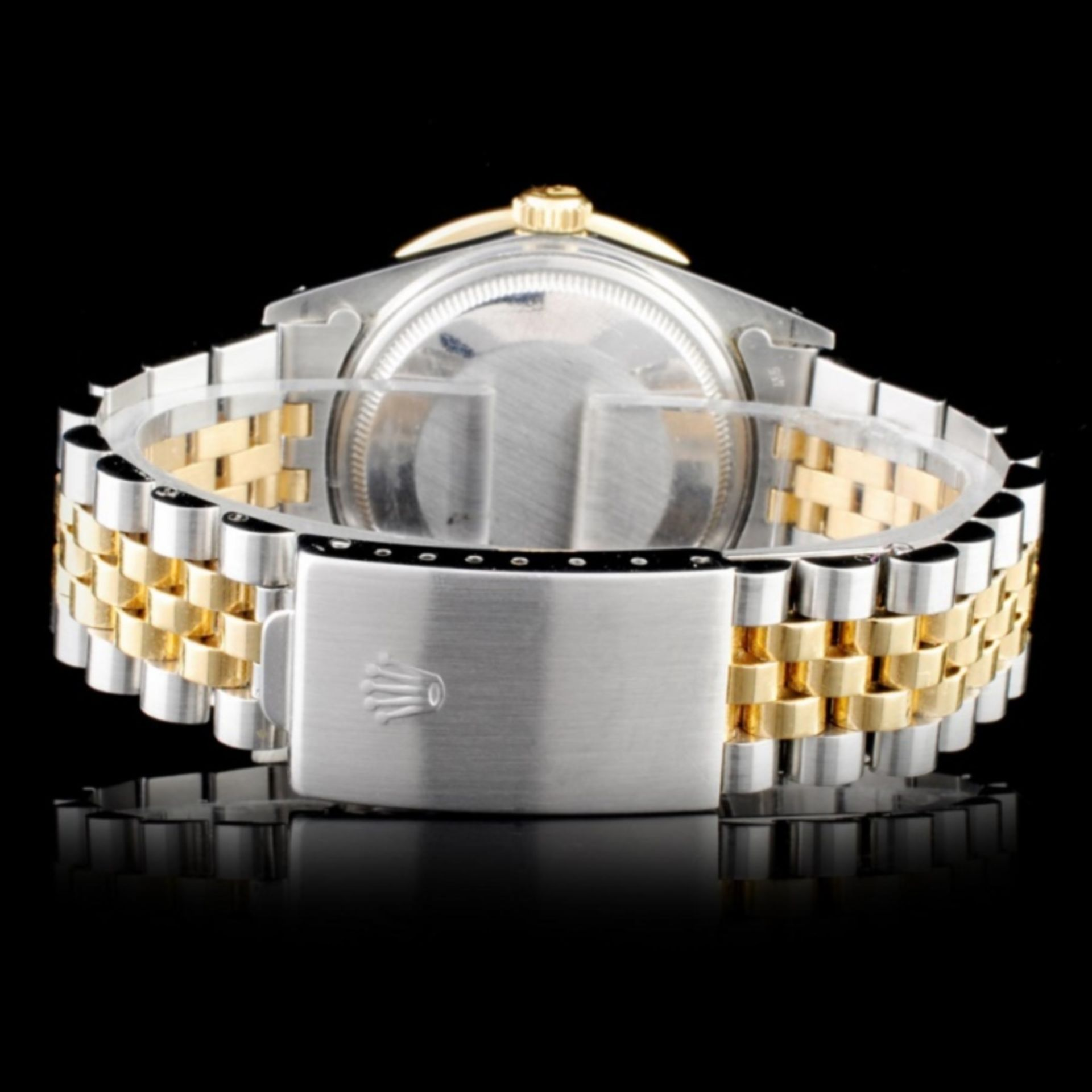 Rolex YG/SS 36MM DateJust Diamond Wristwatch - Image 3 of 5