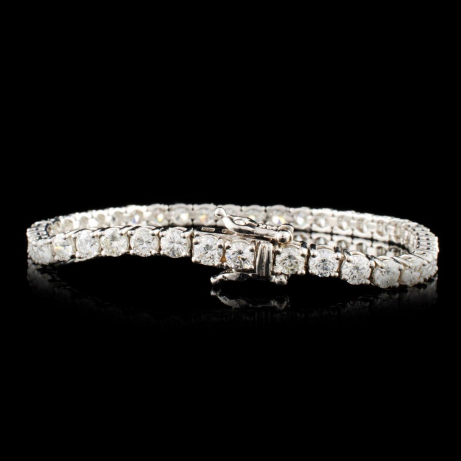 14K Gold 7.59ctw Diamond Bracelet - Image 2 of 4