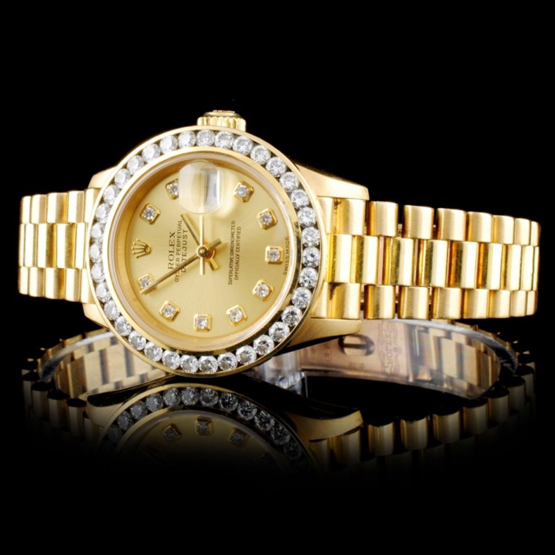 Rolex Presidential Diamond Ladies Watch - Image 2 of 5