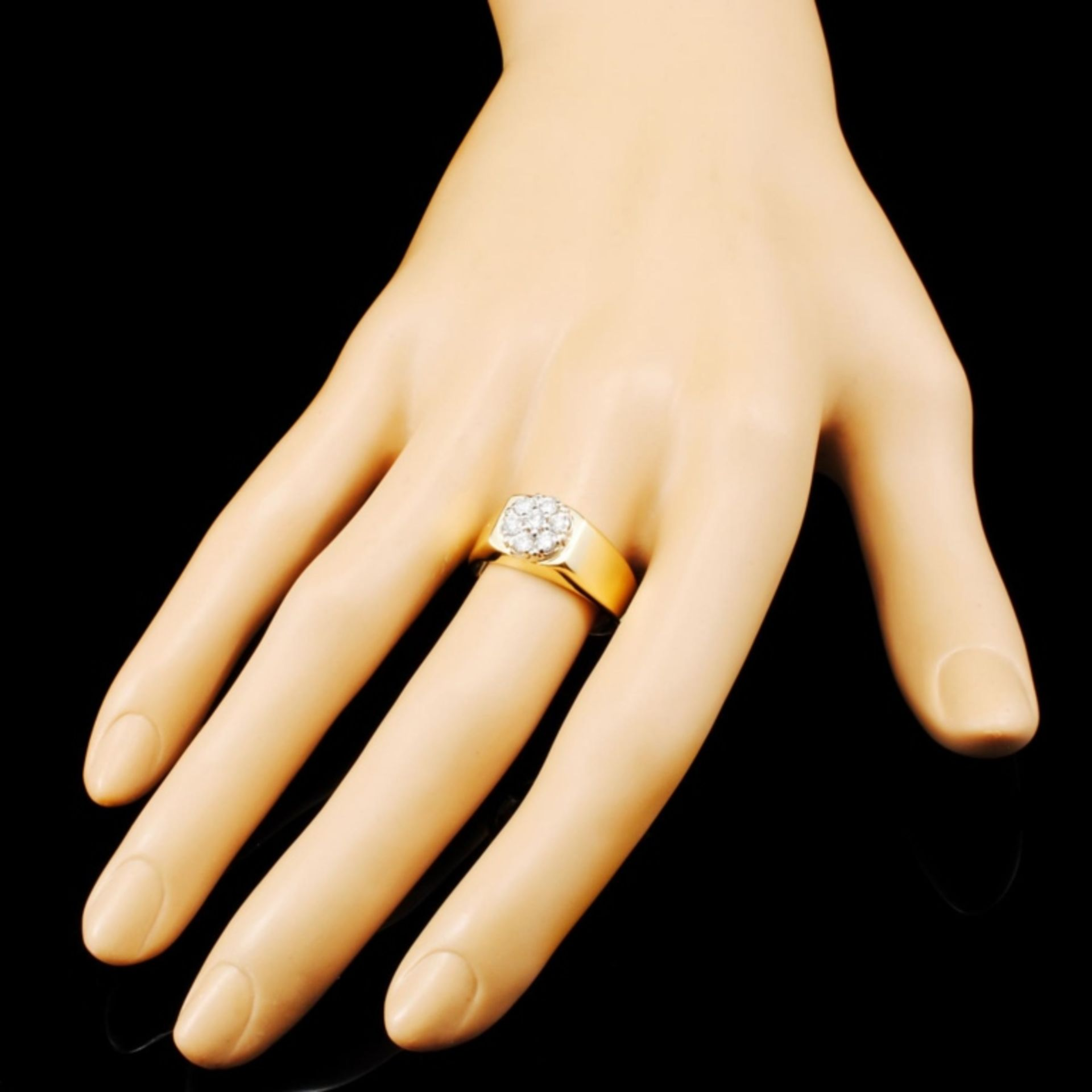 14K Gold 0.28ctw Diamond Ring - Image 3 of 5