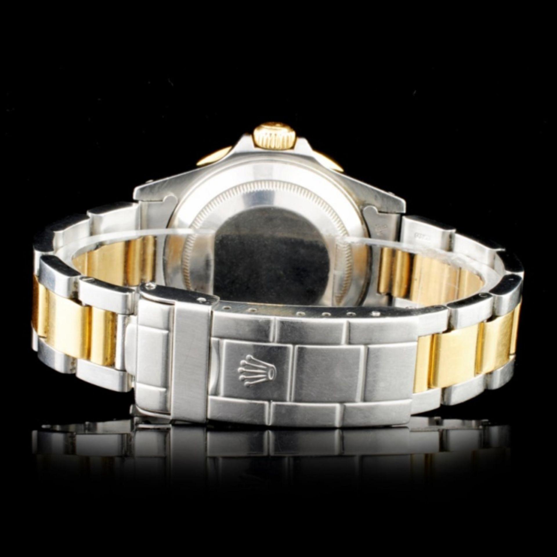 Rolex YG/SS Submariner Diamond 40MM Watch - Image 3 of 5