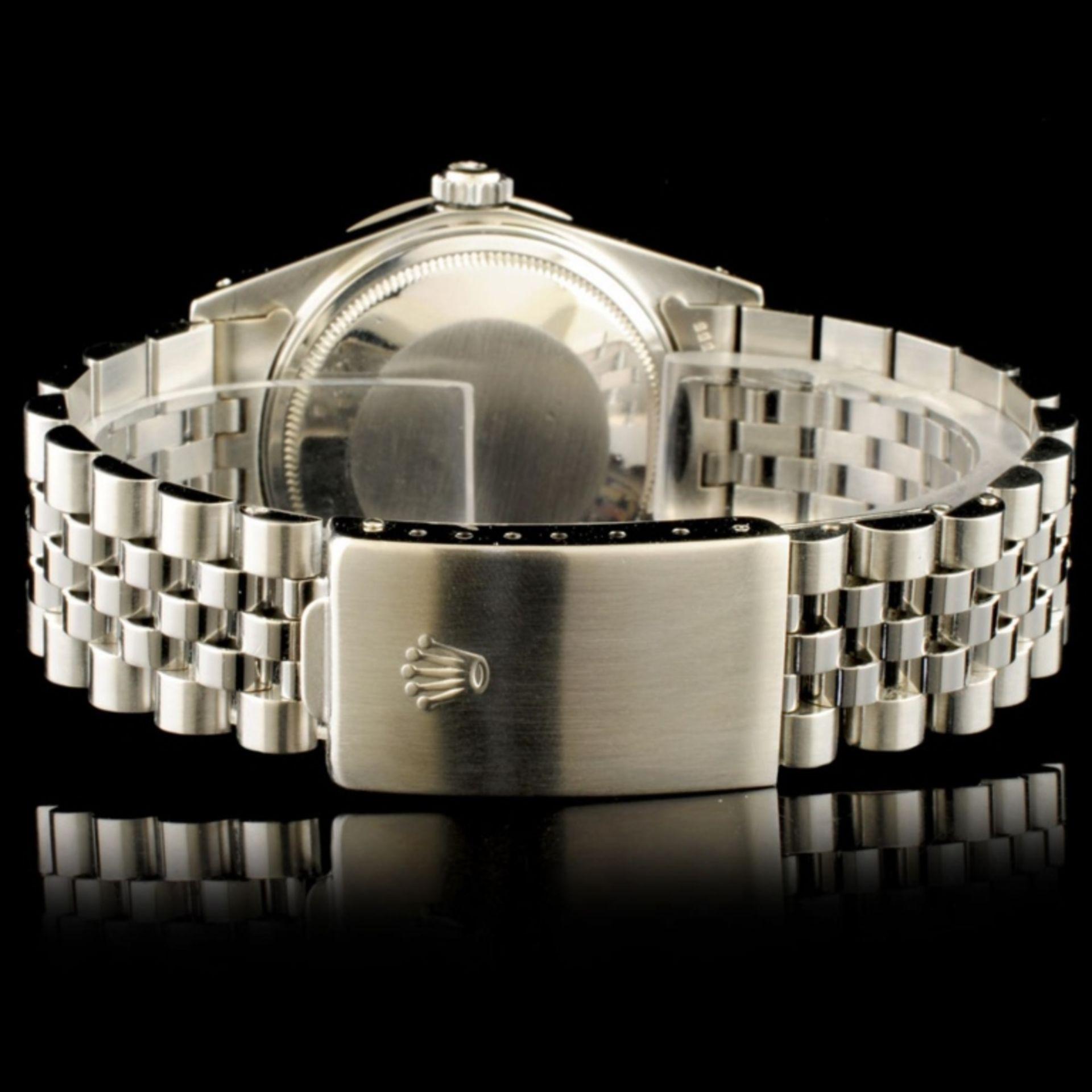 Rolex DateJust 1.35ct Diamond 36MM Wristwatch - Image 3 of 4