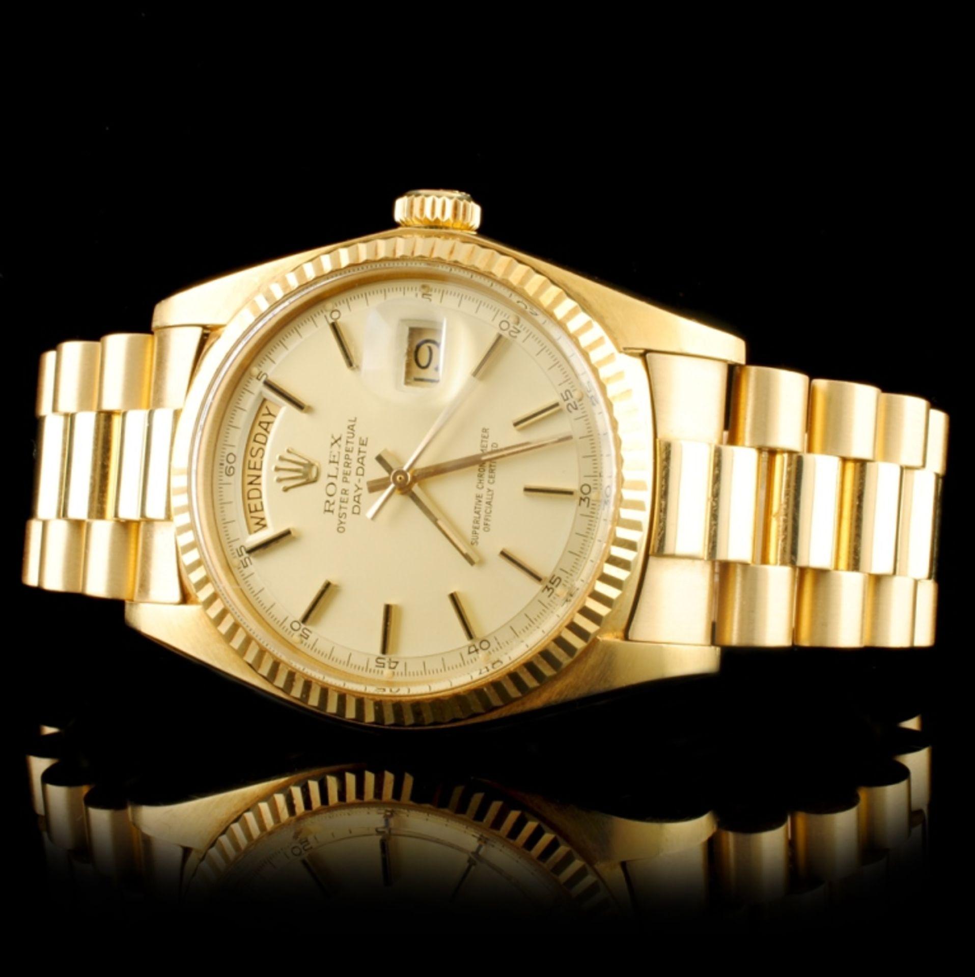 Rolex Day-Date 18K YG 36MM Wristwatch - Image 2 of 6