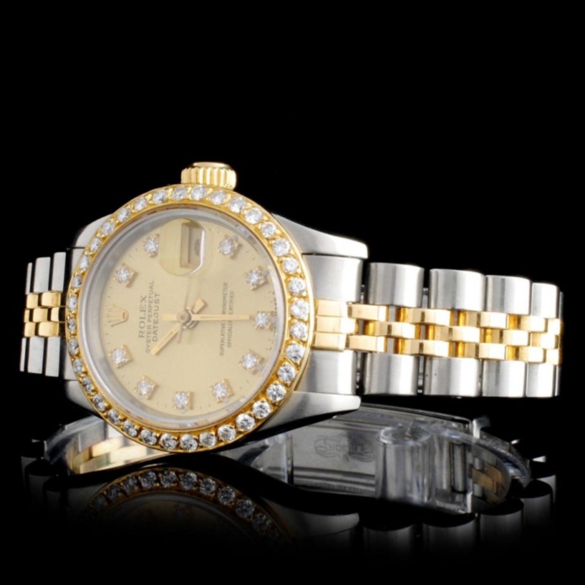 Rolex DateJust Diamond Ladies Watch - Image 2 of 5