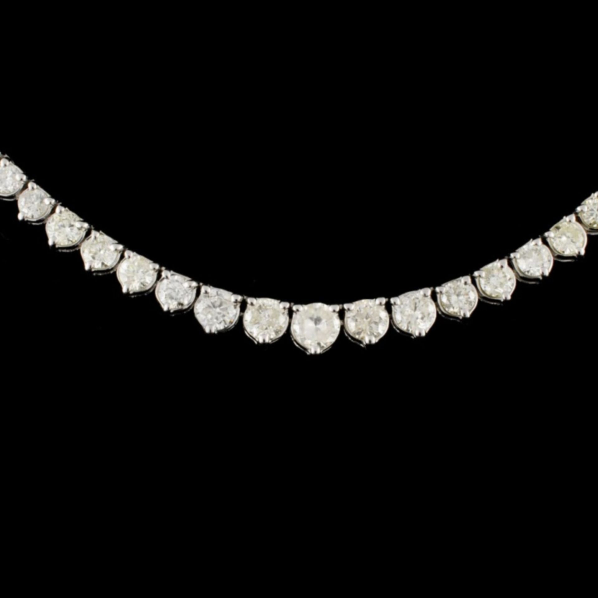 14K Gold 8.68ctw Diamond Necklace - Image 2 of 3