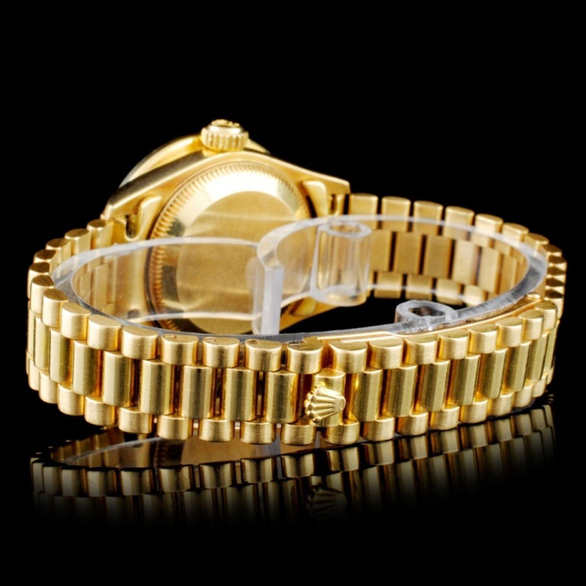 Rolex Presidential Diamond Ladies Watch - Image 3 of 5