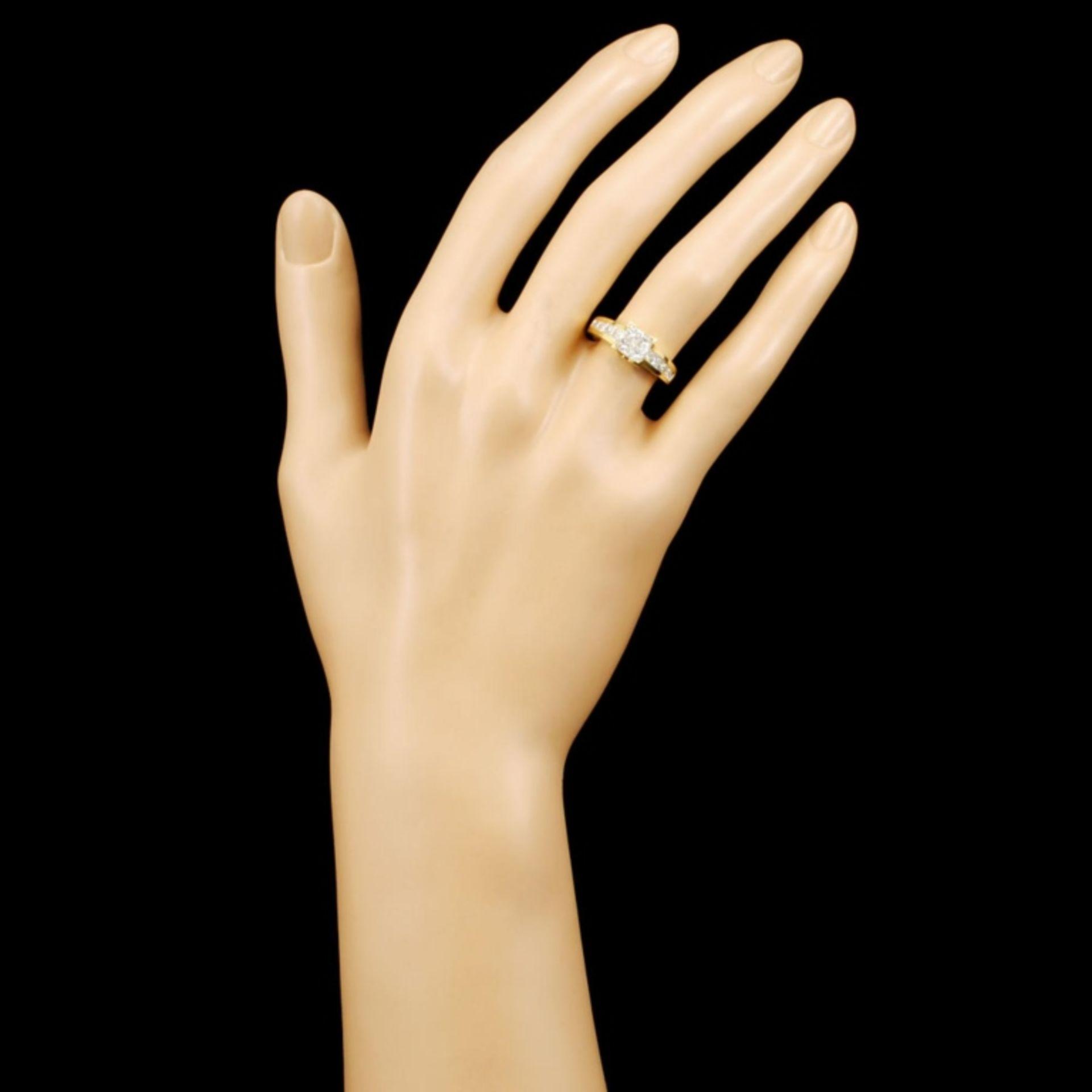 18K Gold 1.50ctw Diamond Ring - Image 4 of 5