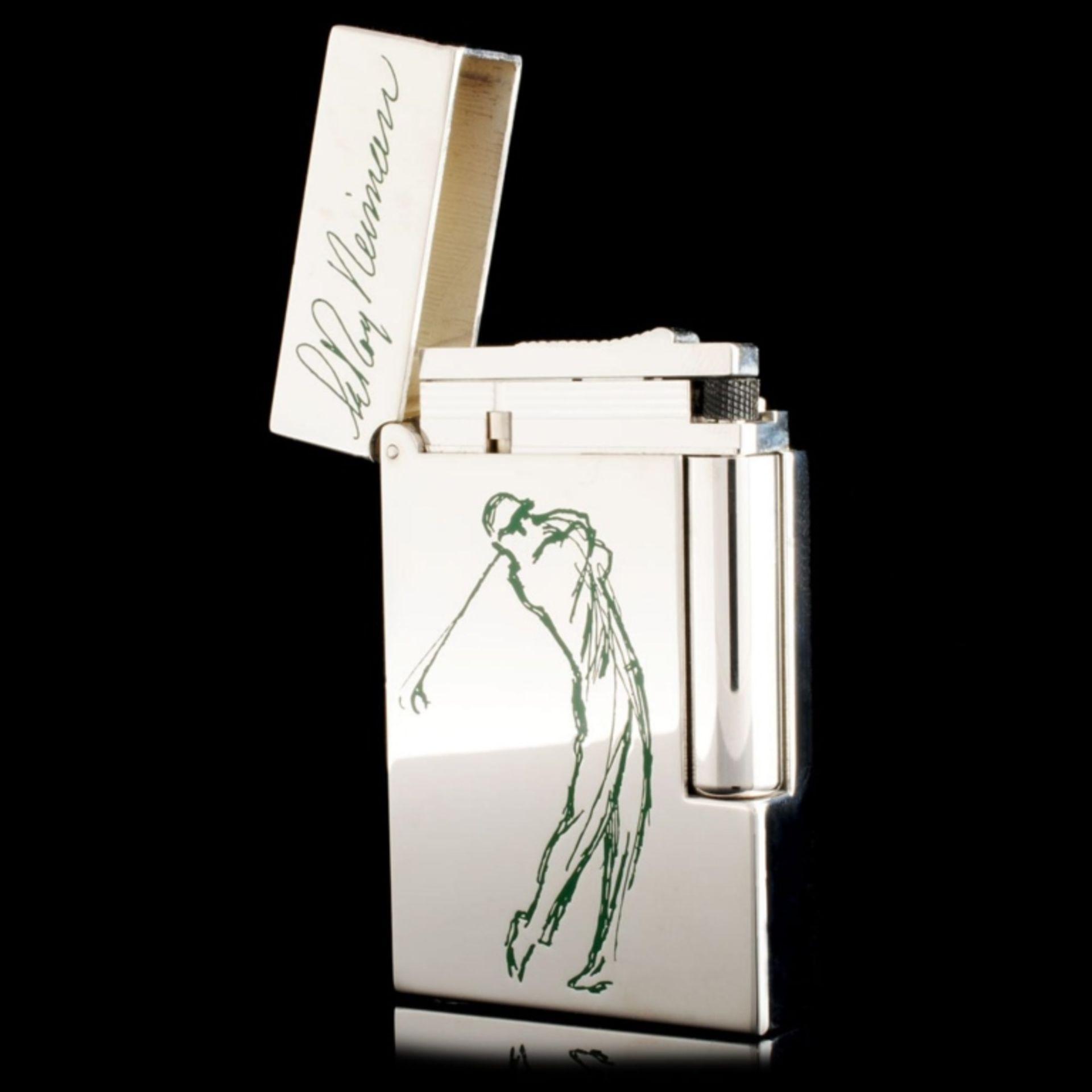 ST Dupont Leroy Nieman Lighter