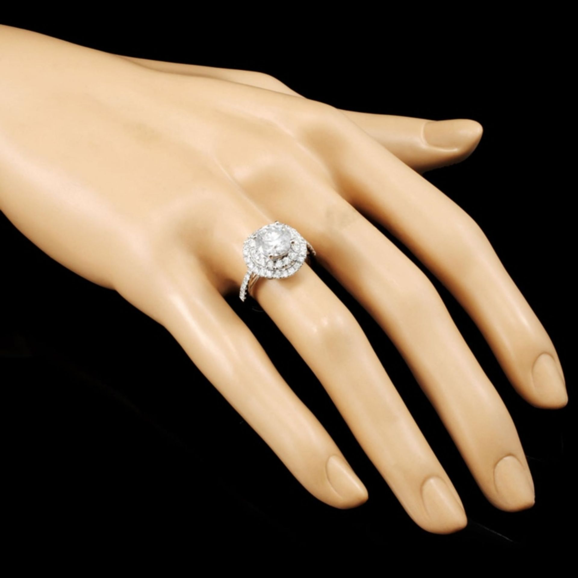 18K Gold 2.73ctw Diamond Ring - Image 5 of 7