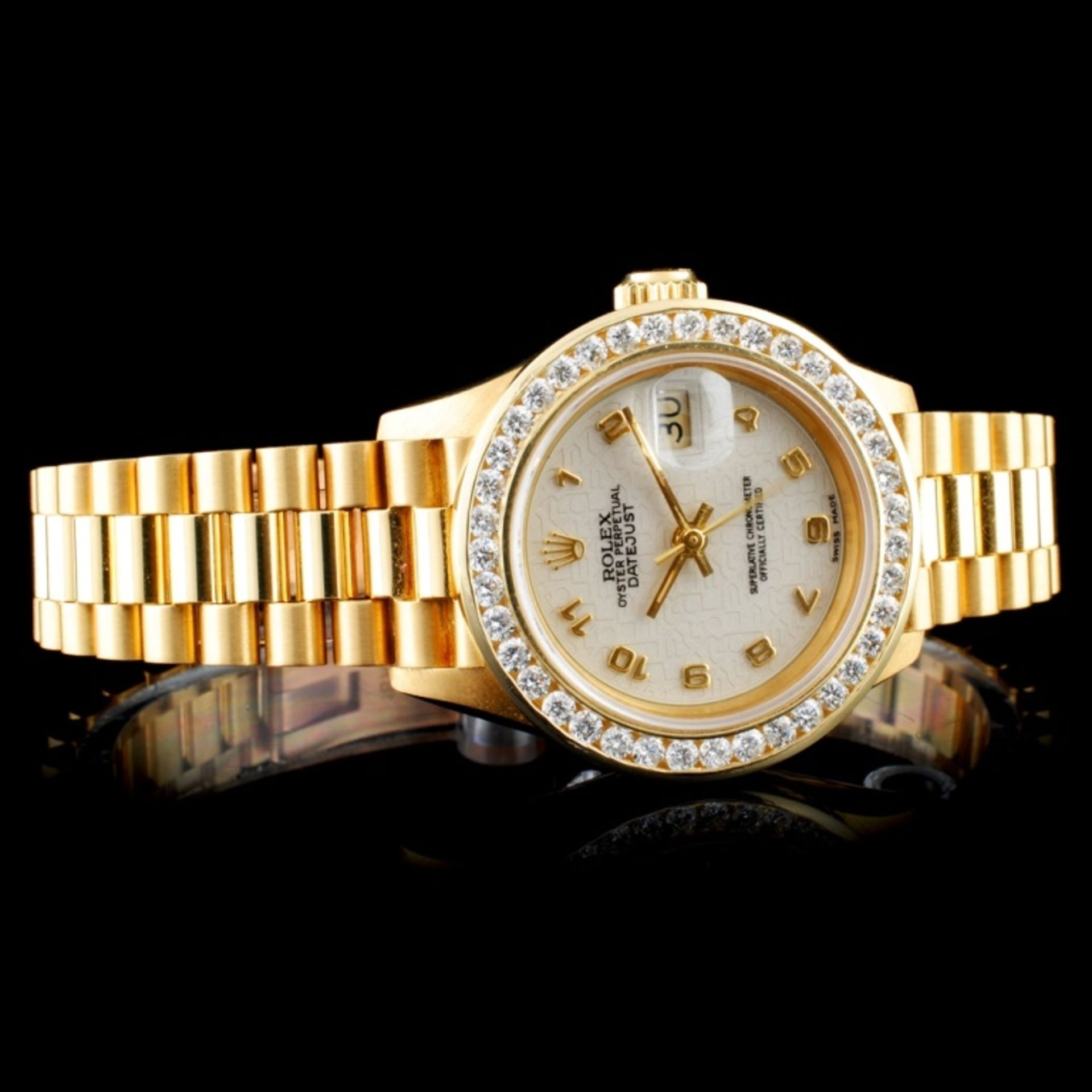 Rolex Presidential Diamond Ladies Watch - Image 2 of 6