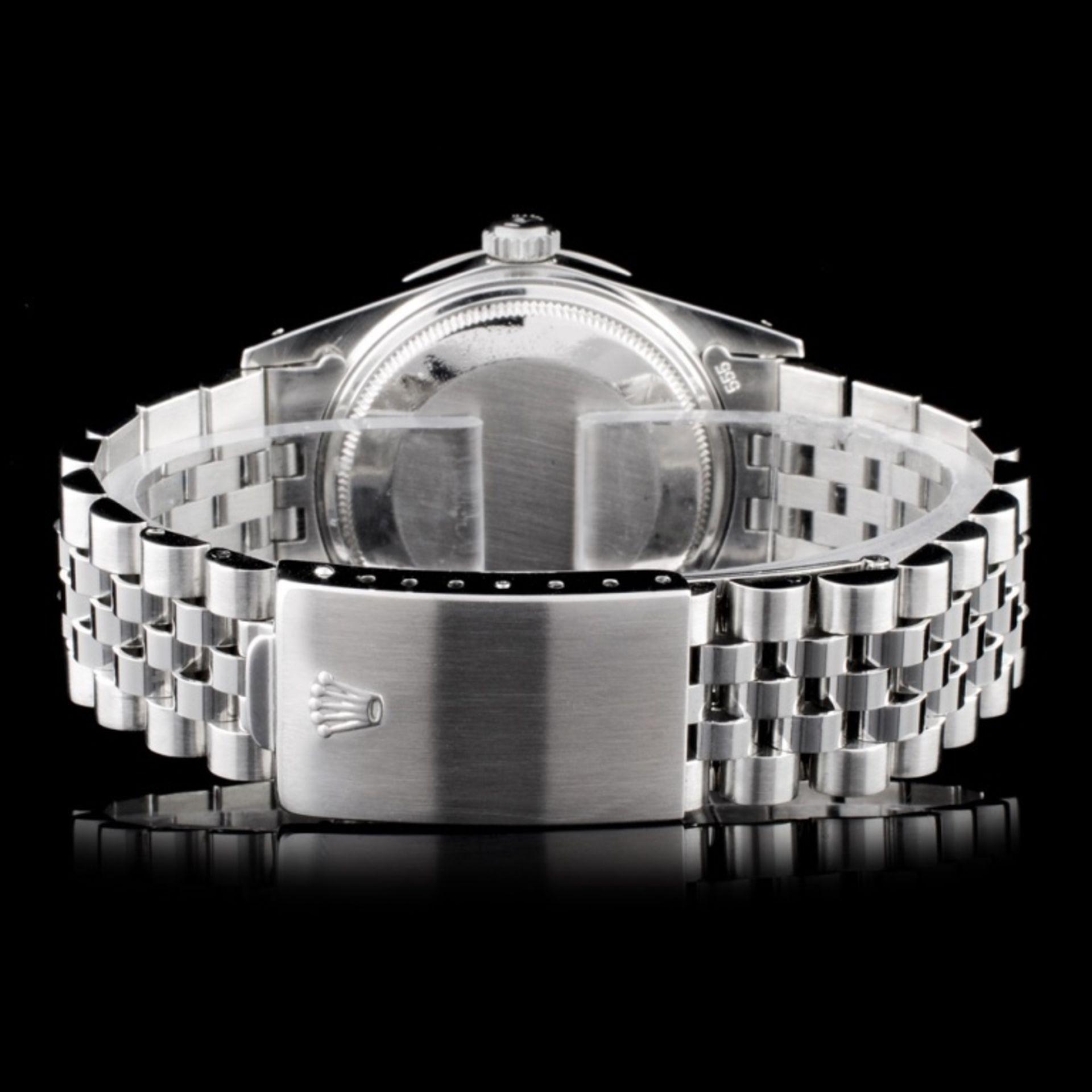 Rolex SS DateJust Diamond 36MM Wristwatch - Image 3 of 5