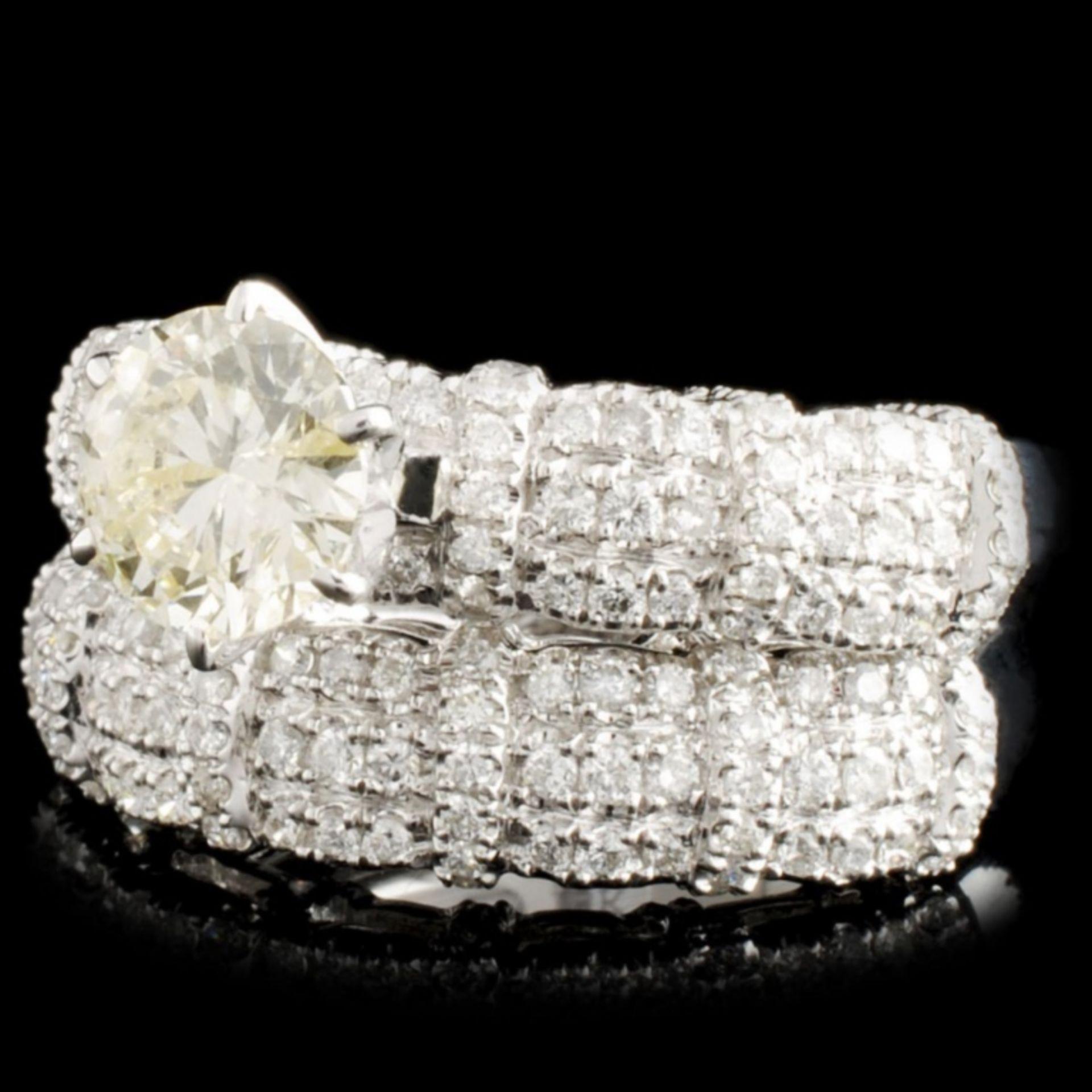 18K Gold 1.92ctw Diamond Ring - Image 2 of 4